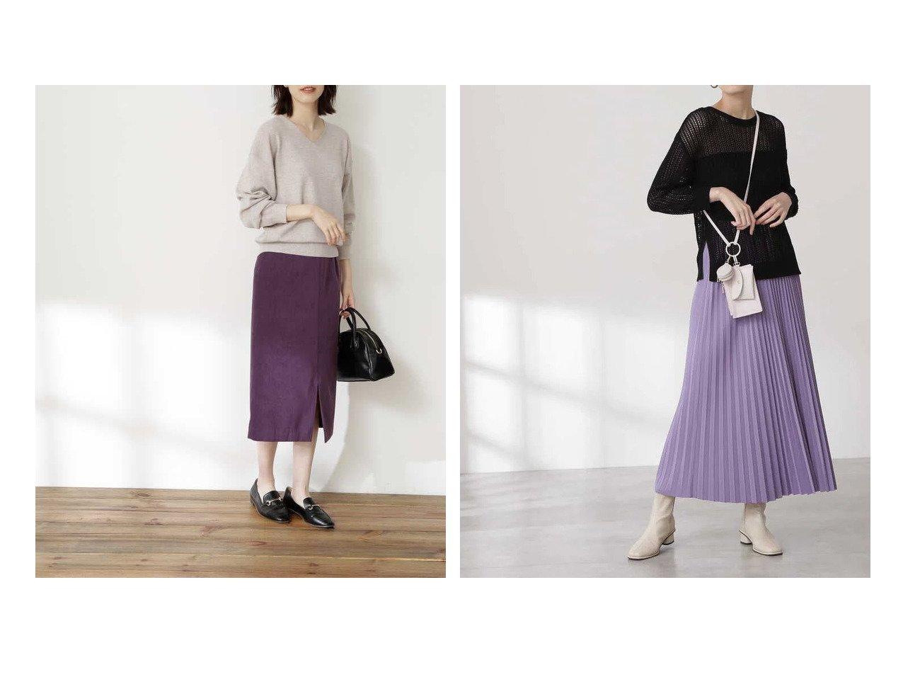 【N.Natural Beauty basic/エヌ ナチュラルビューティーベーシック】のピーチタイトスカート《S Size Line》&リバーシブルプリーツスカート 【スカート】おすすめ!人気、トレンド・レディースファッションの通販 おすすめで人気の流行・トレンド、ファッションの通販商品 インテリア・家具・メンズファッション・キッズファッション・レディースファッション・服の通販 founy(ファニー) https://founy.com/ ファッション Fashion レディースファッション WOMEN スカート Skirt プリーツスカート Pleated Skirts シンプル スリット センター バランス ピーチ ロング プリーツ リバーシブル  ID:crp329100000065216