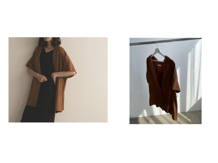 【marjour/マージュール】の【OUTLET】GEORGETTE SUMMER JACKET 【アウター】おすすめ!人気、トレンド・レディースファッションの通販 おすすめ人気トレンドファッション通販アイテム 人気、トレンドファッション・服の通販 founy(ファニー) ファッション Fashion レディースファッション WOMEN アウター Coat Outerwear ジャケット Jackets アウトレット OUTLET チェック 夏 Summer |ID:crp329100000065255