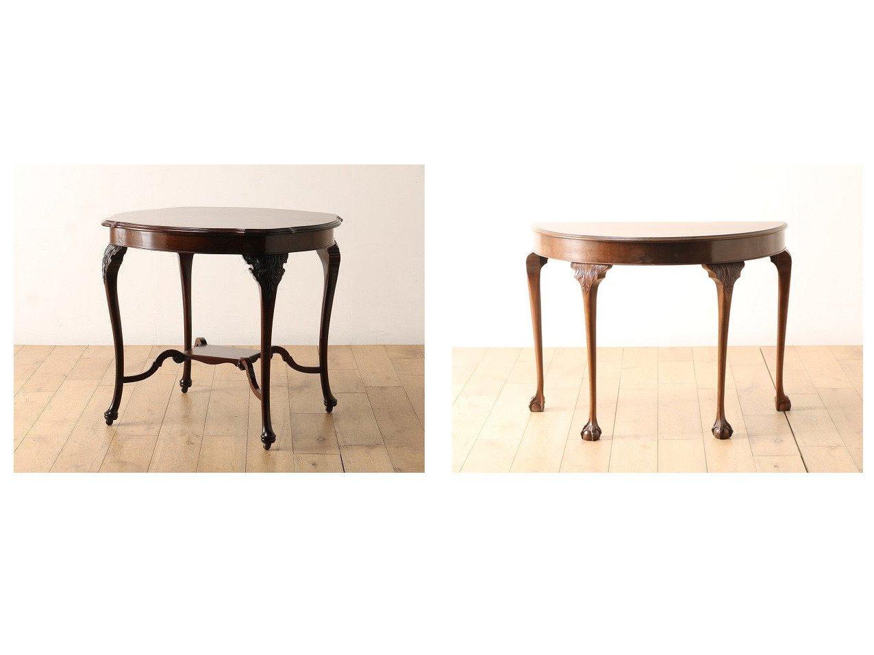 【Lloyd's Antiques/ロイズ アンティークス】のReal Antique B& イギリスアンティーク家具 B&C ハーフムーンテーブル&イギリスアンティーク家具 センターテーブル 【FURNITURE】おすすめ!人気、インテリア雑貨・家具の通販 おすすめで人気の流行・トレンド、ファッションの通販商品 インテリア・家具・メンズファッション・キッズファッション・レディースファッション・服の通販 founy(ファニー) https://founy.com/ アンティーク センター テーブル ホーム・キャンプ・アウトドア Home,Garden,Outdoor,Camping Gear 家具・インテリア Furniture テーブル Table ローテーブル・センターテーブル ホーム・キャンプ・アウトドア Home,Garden,Outdoor,Camping Gear 家具・インテリア Furniture テーブル Table カフェテーブル ホーム・キャンプ・アウトドア Home,Garden,Outdoor,Camping Gear 家具・インテリア Furniture テーブル Table コンソール・カウンターテーブル |ID:crp329100000065312