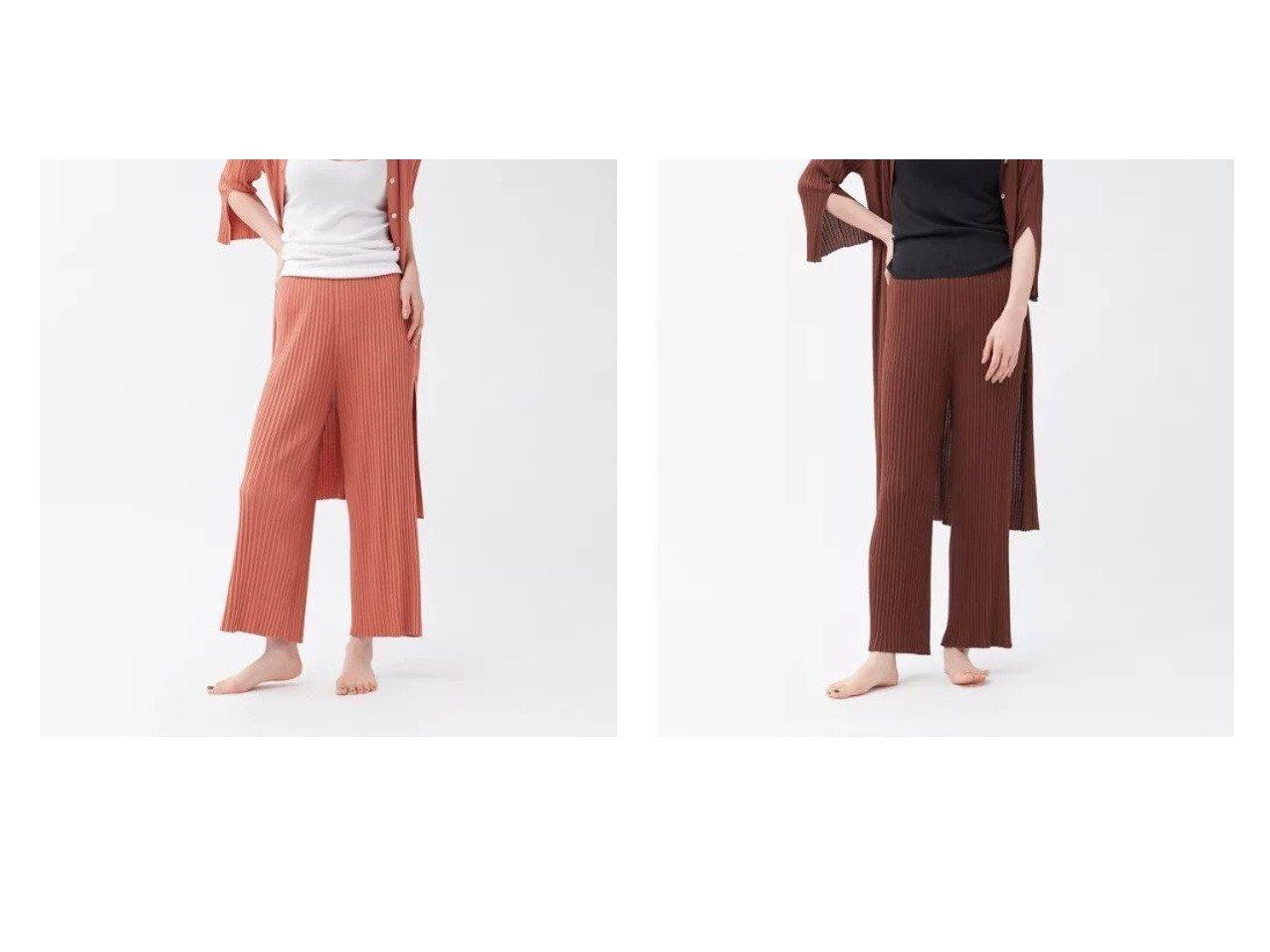【qualite/カリテ】の【WEB・一部店舗限定】《セットアップ対応》リブニットワイドパンツ 【パンツ】おすすめ!人気、トレンド・レディースファッションの通販 おすすめで人気の流行・トレンド、ファッションの通販商品 インテリア・家具・メンズファッション・キッズファッション・レディースファッション・服の通販 founy(ファニー) https://founy.com/ ファッション Fashion レディースファッション WOMEN セットアップ Setup パンツ Pants おすすめ Recommend カーディガン セットアップ フィット リラックス 夏 Summer |ID:crp329100000065338