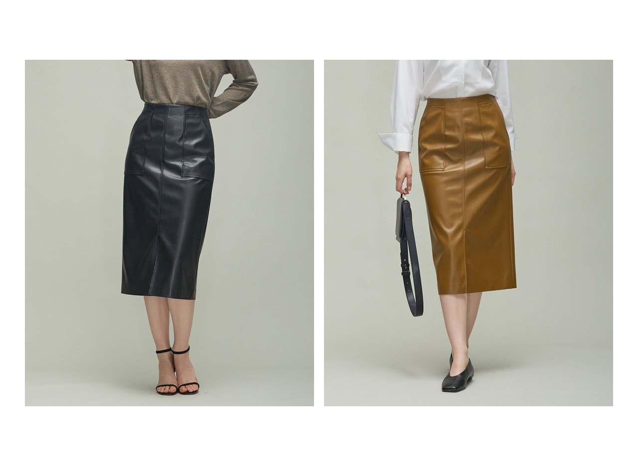 【iCB/アイシービー】のフェイクレザー タイトスカート 【スカート】おすすめ!人気、トレンド・レディースファッションの通販 おすすめで人気の流行・トレンド、ファッションの通販商品 インテリア・家具・メンズファッション・キッズファッション・レディースファッション・服の通販 founy(ファニー) https://founy.com/ ファッション Fashion レディースファッション WOMEN スカート Skirt ジャケット ストレッチ ストレート セットアップ タイトスカート フェイクレザー ポケット A/W・秋冬 AW・Autumn/Winter・FW・Fall-Winter 2021年 2021 2021-2022秋冬・A/W AW・Autumn/Winter・FW・Fall-Winter・2021-2022 送料無料 Free Shipping おすすめ Recommend  ID:crp329100000065348