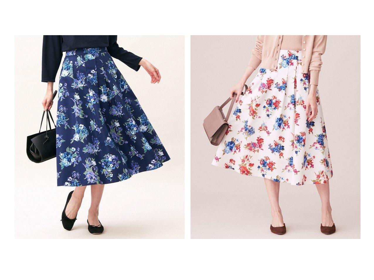 【KUMIKYOKU/組曲】のブーケフラワープリント ランダムタック スカート 【スカート】おすすめ!人気、トレンド・レディースファッションの通販 おすすめで人気の流行・トレンド、ファッションの通販商品 インテリア・家具・メンズファッション・キッズファッション・レディースファッション・服の通販 founy(ファニー) https://founy.com/ ファッション Fashion レディースファッション WOMEN スカート Skirt ヴィンテージ 春 Spring クラシック グログラン 人気 フラワー フレア プリント モチーフ ランダム A/W・秋冬 AW・Autumn/Winter・FW・Fall-Winter 2021年 2021 S/S・春夏 SS・Spring/Summer 2021-2022秋冬・A/W AW・Autumn/Winter・FW・Fall-Winter・2021-2022 送料無料 Free Shipping 夏 Summer  ID:crp329100000065350