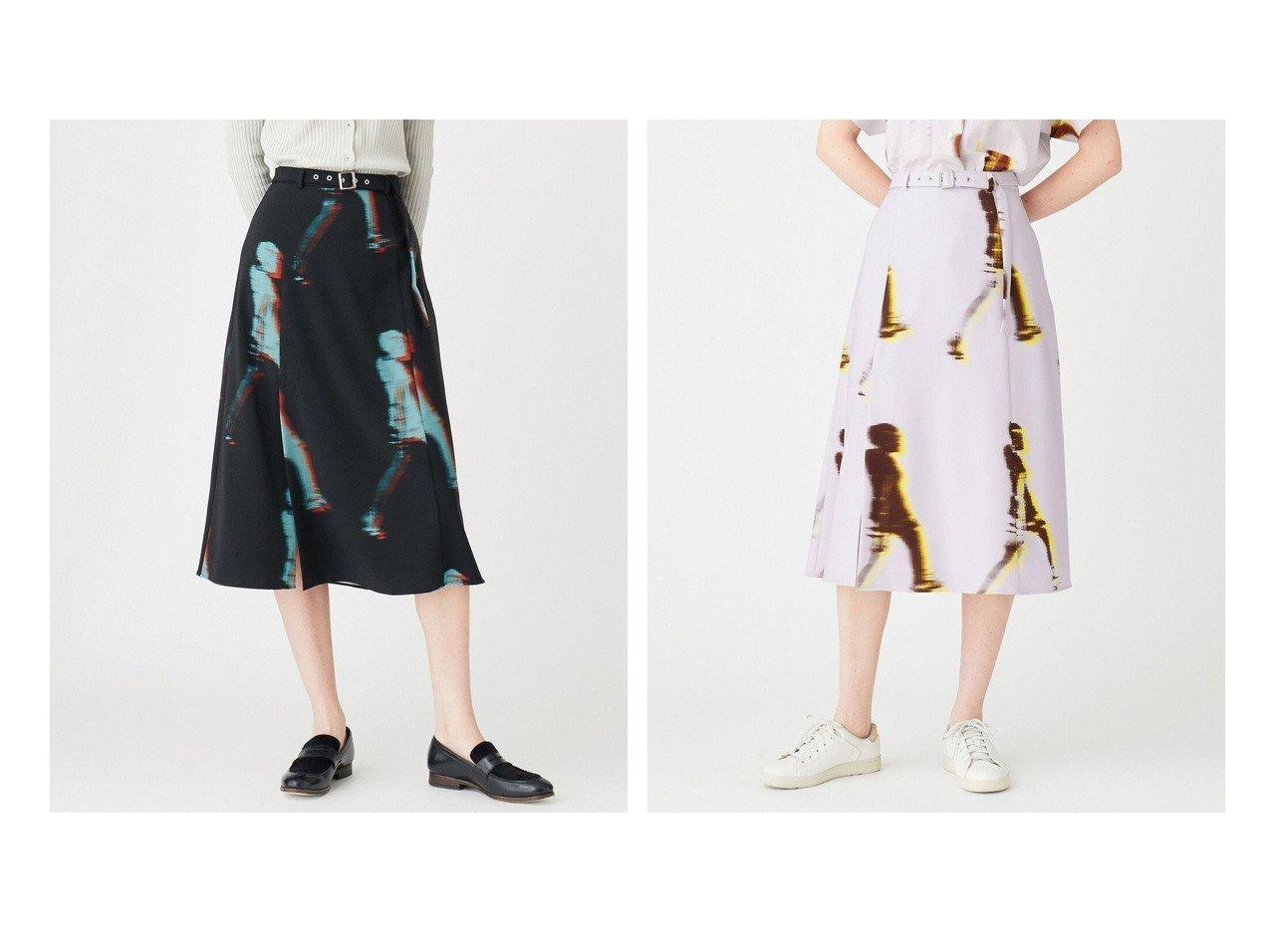 【Paul Smith/ポール スミス】のウォーカー プリントスカート 【スカート】おすすめ!人気、トレンド・レディースファッションの通販 おすすめで人気の流行・トレンド、ファッションの通販商品 インテリア・家具・メンズファッション・キッズファッション・レディースファッション・服の通販 founy(ファニー) https://founy.com/ ファッション Fashion レディースファッション WOMEN スカート Skirt 送料無料 Free Shipping エレガント ストレッチ ドレープ フレア プリント ワーク |ID:crp329100000065651
