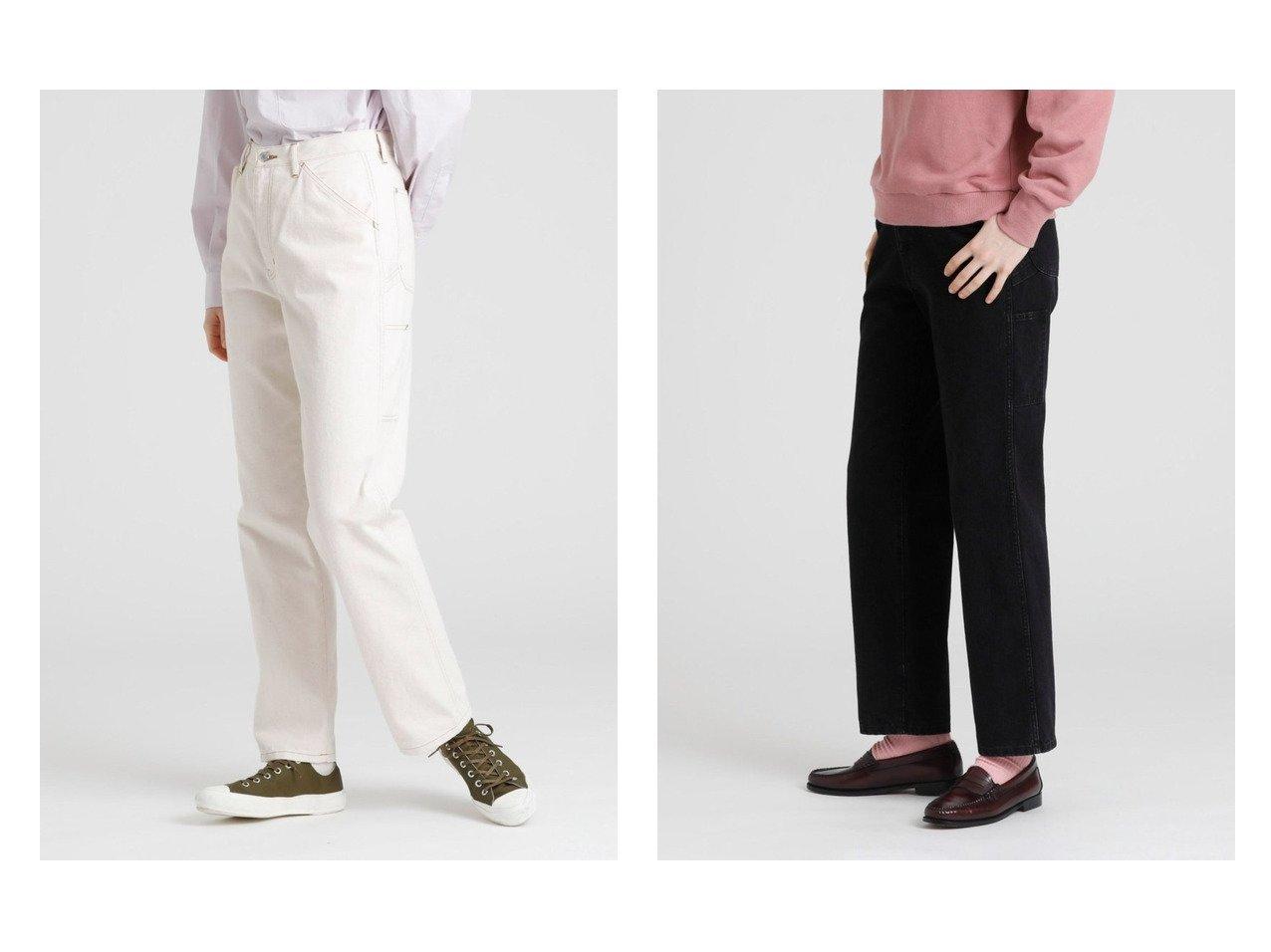【MACKINTOSH PHILOSOPHY/マッキントッシュ フィロソフィー】のGREY LABEL ペインターデニムパンツ 【パンツ】おすすめ!人気、トレンド・レディースファッションの通販   おすすめで人気の流行・トレンド、ファッションの通販商品 インテリア・家具・メンズファッション・キッズファッション・レディースファッション・服の通販 founy(ファニー) https://founy.com/ ファッション Fashion レディースファッション WOMEN パンツ Pants デニムパンツ Denim Pants エレガント シンプル ジーンズ デニム ポケット ヴィンテージ |ID:crp329100000065896