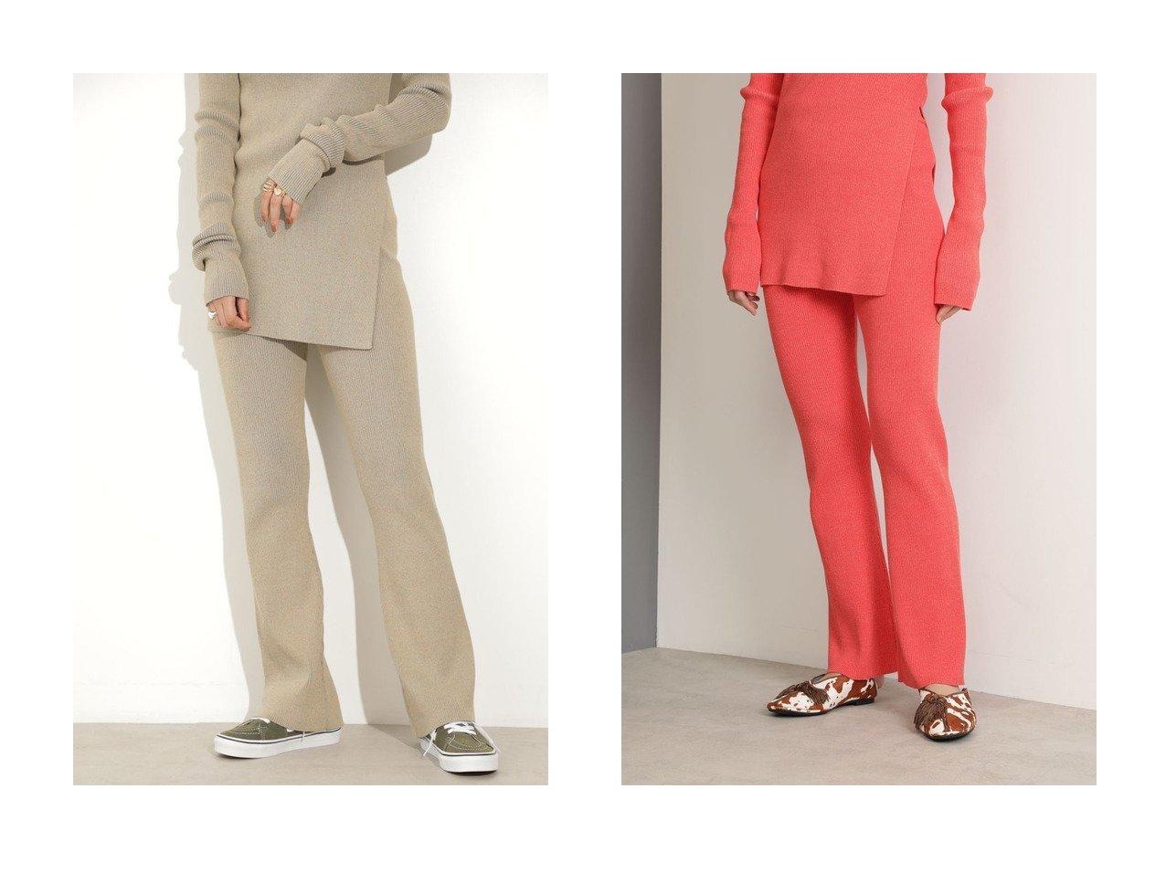 【ROSE BUD/ローズバッド】のメランジニットパンツ 【パンツ】おすすめ!人気、トレンド・レディースファッションの通販   おすすめで人気の流行・トレンド、ファッションの通販商品 インテリア・家具・メンズファッション・キッズファッション・レディースファッション・服の通販 founy(ファニー) https://founy.com/ ファッション Fashion レディースファッション WOMEN パンツ Pants 2020年 2020 2020-2021秋冬・A/W AW・Autumn/Winter・FW・Fall-Winter/2020-2021 2021年 2021 2021-2022秋冬・A/W AW・Autumn/Winter・FW・Fall-Winter・2021-2022 A/W・秋冬 AW・Autumn/Winter・FW・Fall-Winter セットアップ フレア メランジ 人気 |ID:crp329100000065900