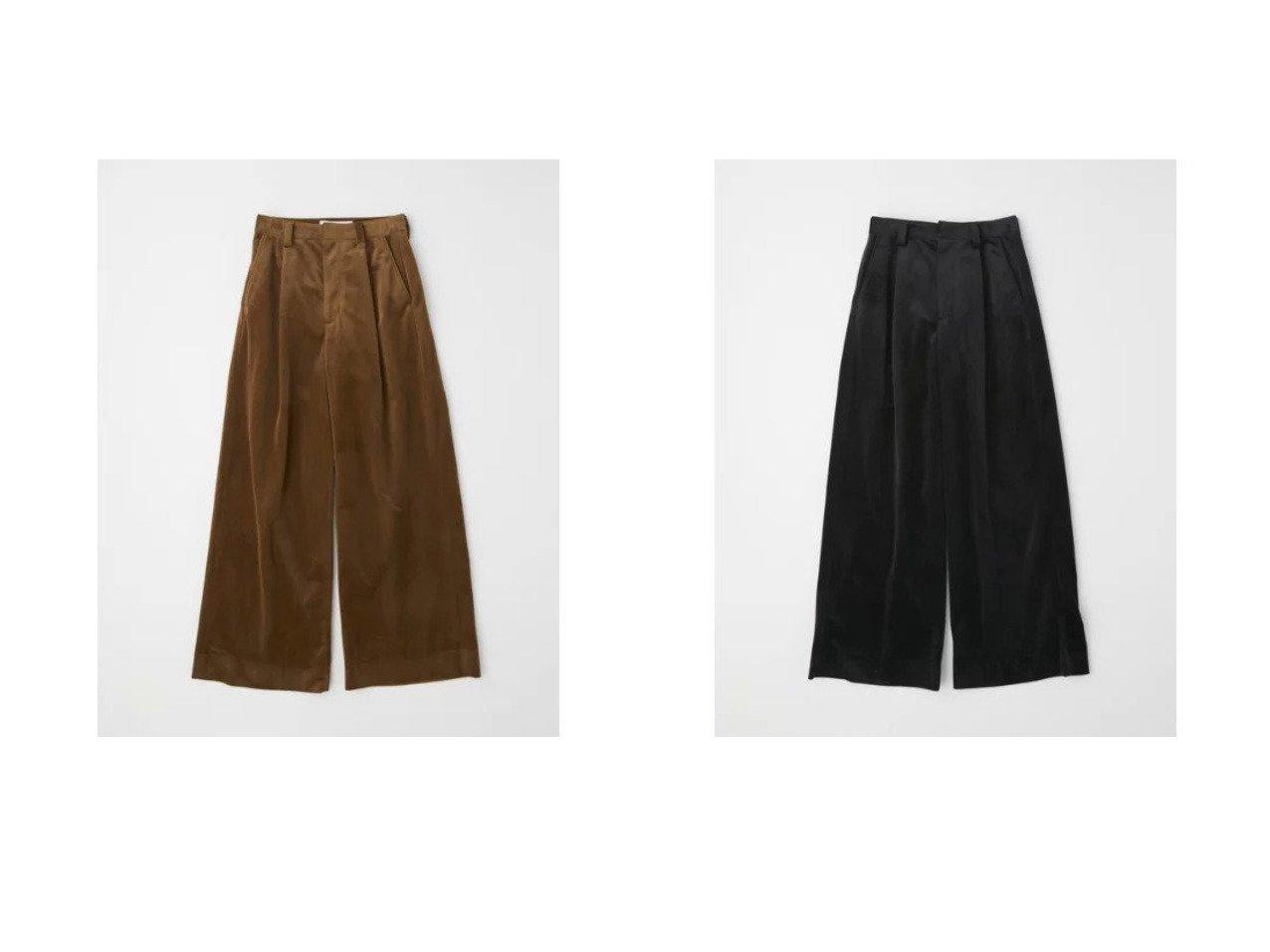 【TWW / Traditional Weatherwear/トラディショナル ウェザーウェア】のTUCK WIDE PANTS 【パンツ】おすすめ!人気、トレンド・レディースファッションの通販   おすすめで人気の流行・トレンド、ファッションの通販商品 インテリア・家具・メンズファッション・キッズファッション・レディースファッション・服の通販 founy(ファニー) https://founy.com/ ファッション Fashion レディースファッション WOMEN パンツ Pants おすすめ Recommend コーデュロイ シンプル ジャケット セットアップ センター フロント プリーツ ベルベット |ID:crp329100000065904