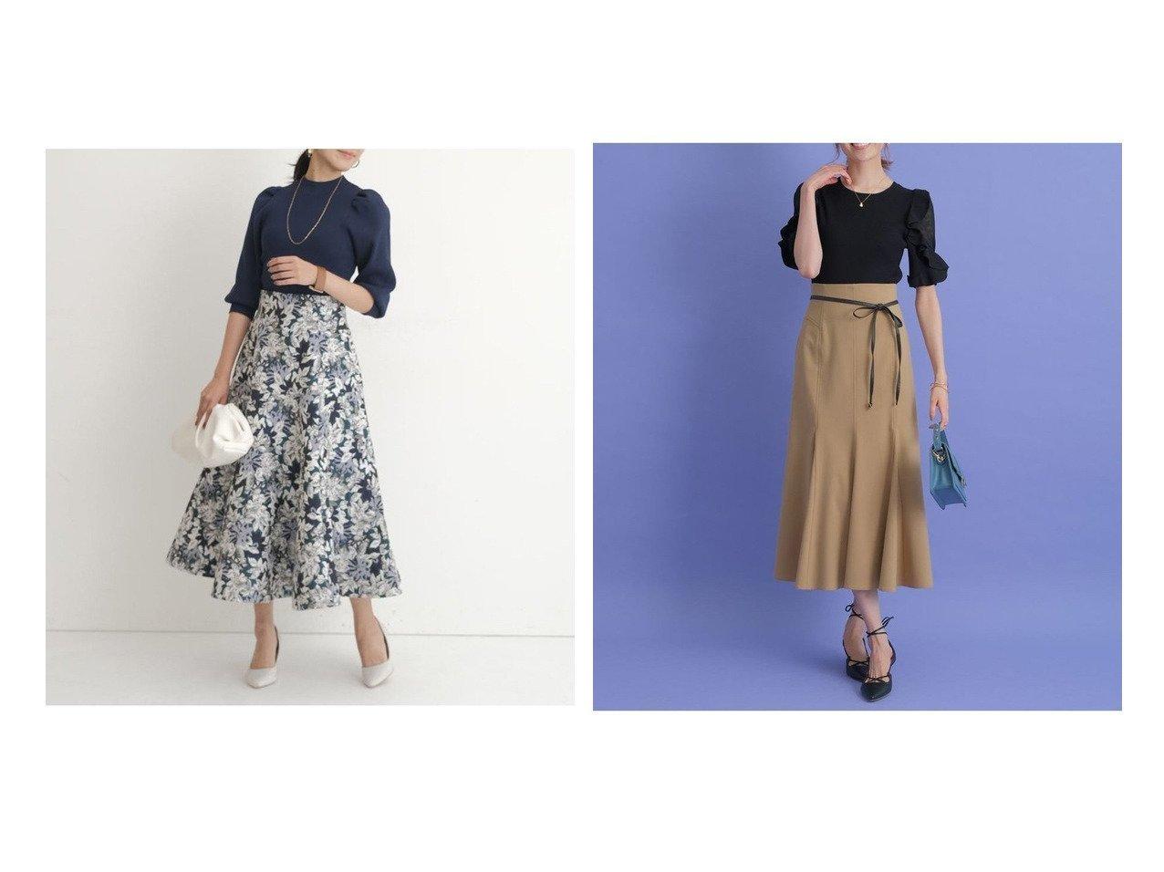 【JUSGLITTY/ジャスグリッティー】のジャガードスカート&【Apuweiser-riche/アプワイザーリッシェ】の洗えるハイウエストマーメイドスカート 【スカート】おすすめ!人気、トレンド・レディースファッションの通販   おすすめで人気の流行・トレンド、ファッションの通販商品 インテリア・家具・メンズファッション・キッズファッション・レディースファッション・服の通販 founy(ファニー) https://founy.com/ ファッション Fashion レディースファッション WOMEN スカート Skirt Aライン/フレアスカート Flared A-Line Skirts ギャザー フレア ヘムライン NEW・新作・新着・新入荷 New Arrivals エレガント マーメイド 洗える  ID:crp329100000065915