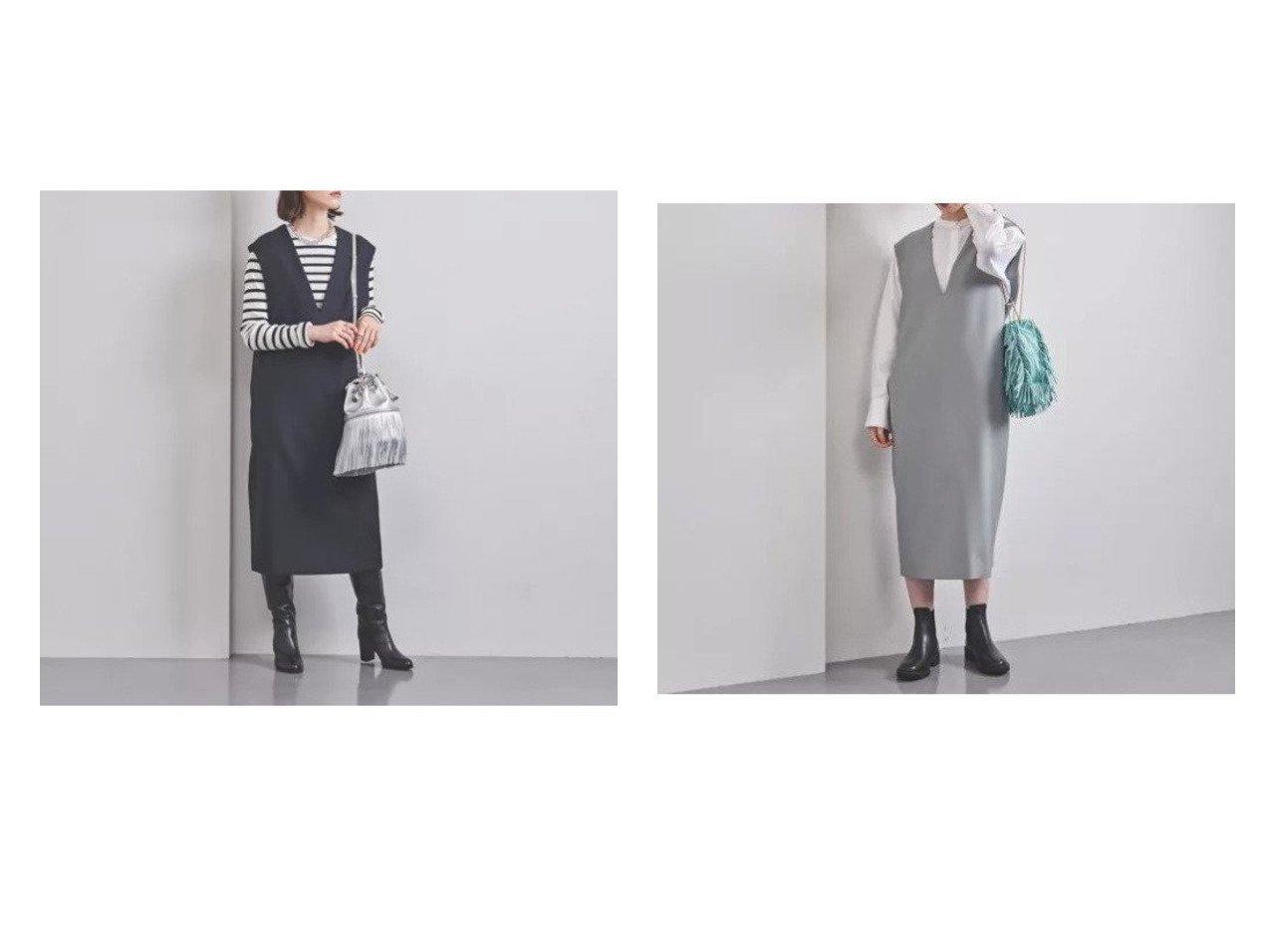 【UNITED ARROWS/ユナイテッドアローズ】のP Iライン ジャンパースカート W 【スカート】おすすめ!人気、トレンド・レディースファッションの通販   おすすめで人気の流行・トレンド、ファッションの通販商品 インテリア・家具・メンズファッション・キッズファッション・レディースファッション・服の通販 founy(ファニー) https://founy.com/ ファッション Fashion レディースファッション WOMEN スカート Skirt ショルダー トレンド ドロップ ノースリーブ ポケット マニッシュ ロング おすすめ Recommend  ID:crp329100000065917