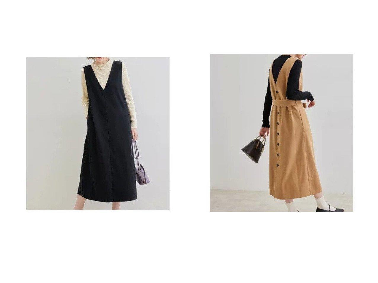 【ROPE' PICNIC/ロペピクニック】の【2WAY】カルゼジャンパースカート 【スカート】おすすめ!人気、トレンド・レディースファッションの通販   おすすめで人気の流行・トレンド、ファッションの通販商品 インテリア・家具・メンズファッション・キッズファッション・レディースファッション・服の通販 founy(ファニー) https://founy.com/ ファッション Fashion レディースファッション WOMEN スカート Skirt A/W・秋冬 AW・Autumn/Winter・FW・Fall-Winter おすすめ Recommend カットソー ポケット 冬 Winter 秋 Autumn/Fall  ID:crp329100000065921
