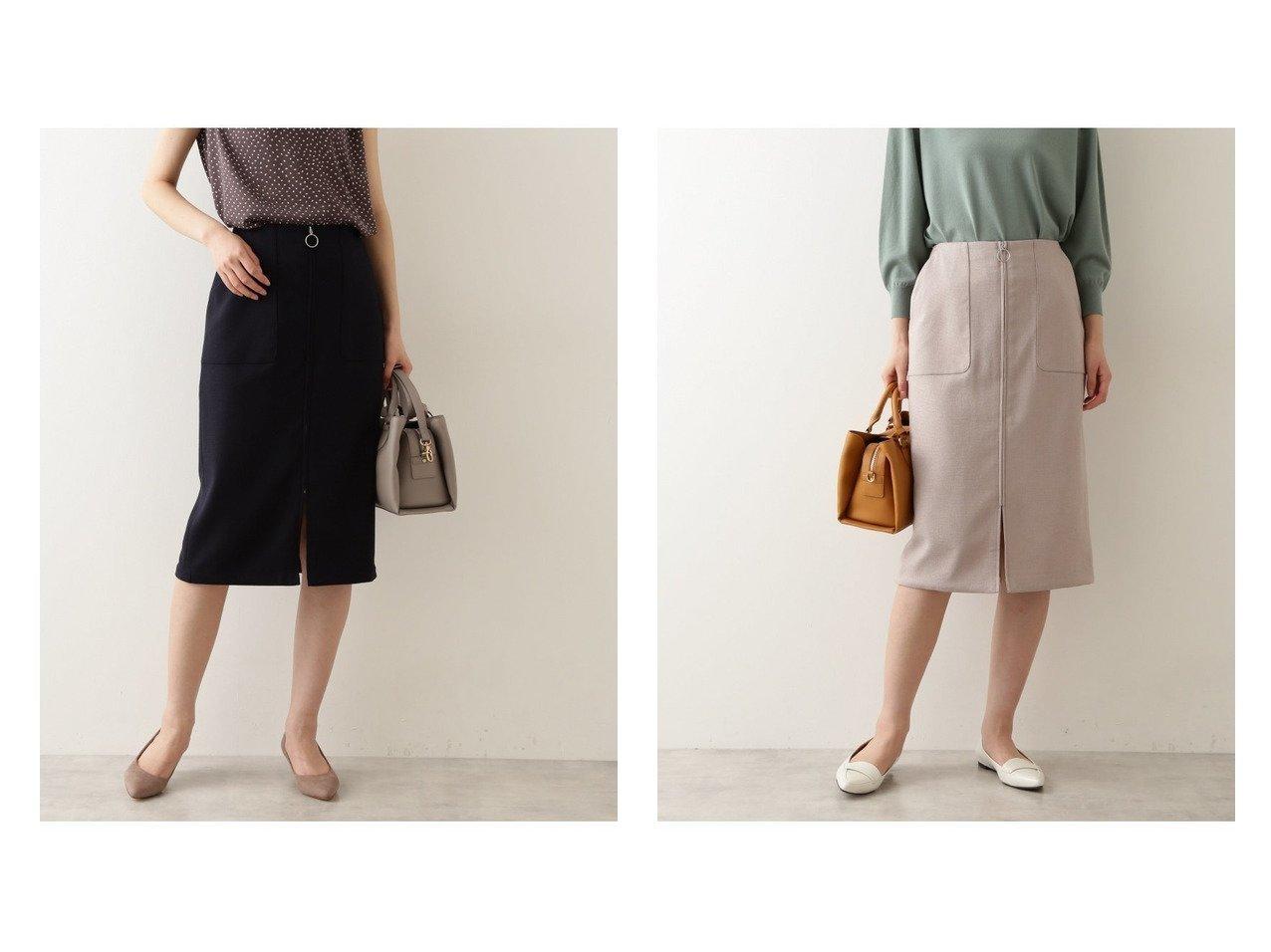 【NATURAL BEAUTY BASIC/ナチュラル ビューティー ベーシック】の洗える リネンライクナロースカート 【スカート】おすすめ!人気、トレンド・レディースファッションの通販   おすすめで人気の流行・トレンド、ファッションの通販商品 インテリア・家具・メンズファッション・キッズファッション・レディースファッション・服の通販 founy(ファニー) https://founy.com/ ファッション Fashion レディースファッション WOMEN スカート Skirt シンプル フロント ポケット リネン 洗える  ID:crp329100000065924