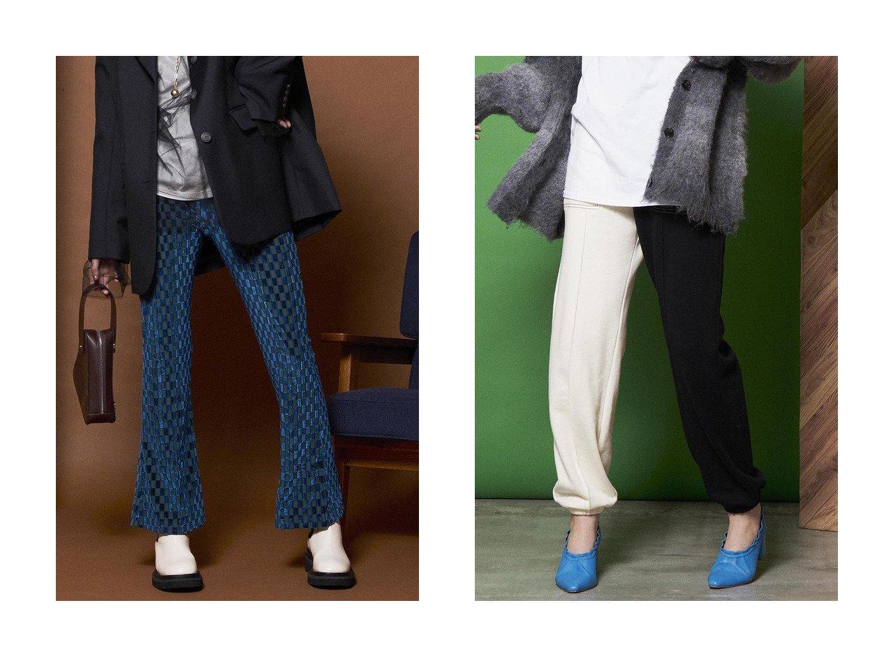 【MAISON SPECIAL/メゾンスペシャル】のソフトコットンスウェットパンツ&ベロアチェックパンツ 【パンツ】おすすめ!人気、トレンド・レディースファッションの通販   おすすめで人気の流行・トレンド、ファッションの通販商品 インテリア・家具・メンズファッション・キッズファッション・レディースファッション・服の通販 founy(ファニー) https://founy.com/ ファッション Fashion レディースファッション WOMEN パンツ Pants ジャージー ストレッチ スーツ チェック チュニック ドレープ ハンド フレア ブロック ベロア ラグジュアリー レギンス センター  ID:crp329100000066069