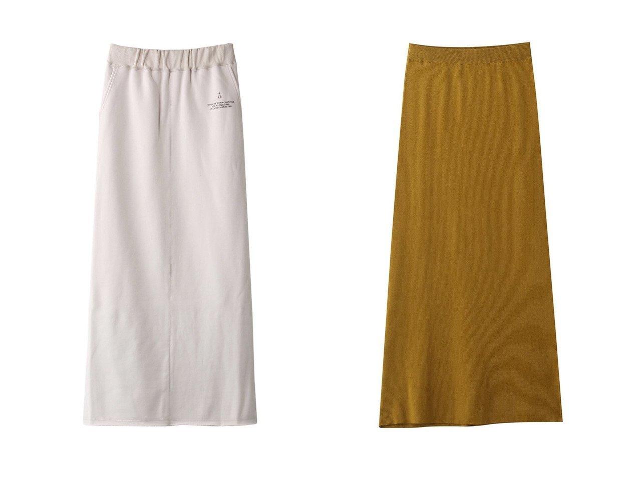 【Curensology/カレンソロジー】のコットンリブタイトスカート&CLヘビーウラケロングスカート 【スカート】おすすめ!人気、トレンド・レディースファッションの通販   おすすめで人気の流行・トレンド、ファッションの通販商品 インテリア・家具・メンズファッション・キッズファッション・レディースファッション・服の通販 founy(ファニー) https://founy.com/ ファッション Fashion レディースファッション WOMEN スカート Skirt ロングスカート Long Skirt 2020年 2020 2020-2021秋冬・A/W AW・Autumn/Winter・FW・Fall-Winter/2020-2021 2021年 2021 2021-2022秋冬・A/W AW・Autumn/Winter・FW・Fall-Winter・2021-2022 A/W・秋冬 AW・Autumn/Winter・FW・Fall-Winter シンプル プリント ロング |ID:crp329100000066086