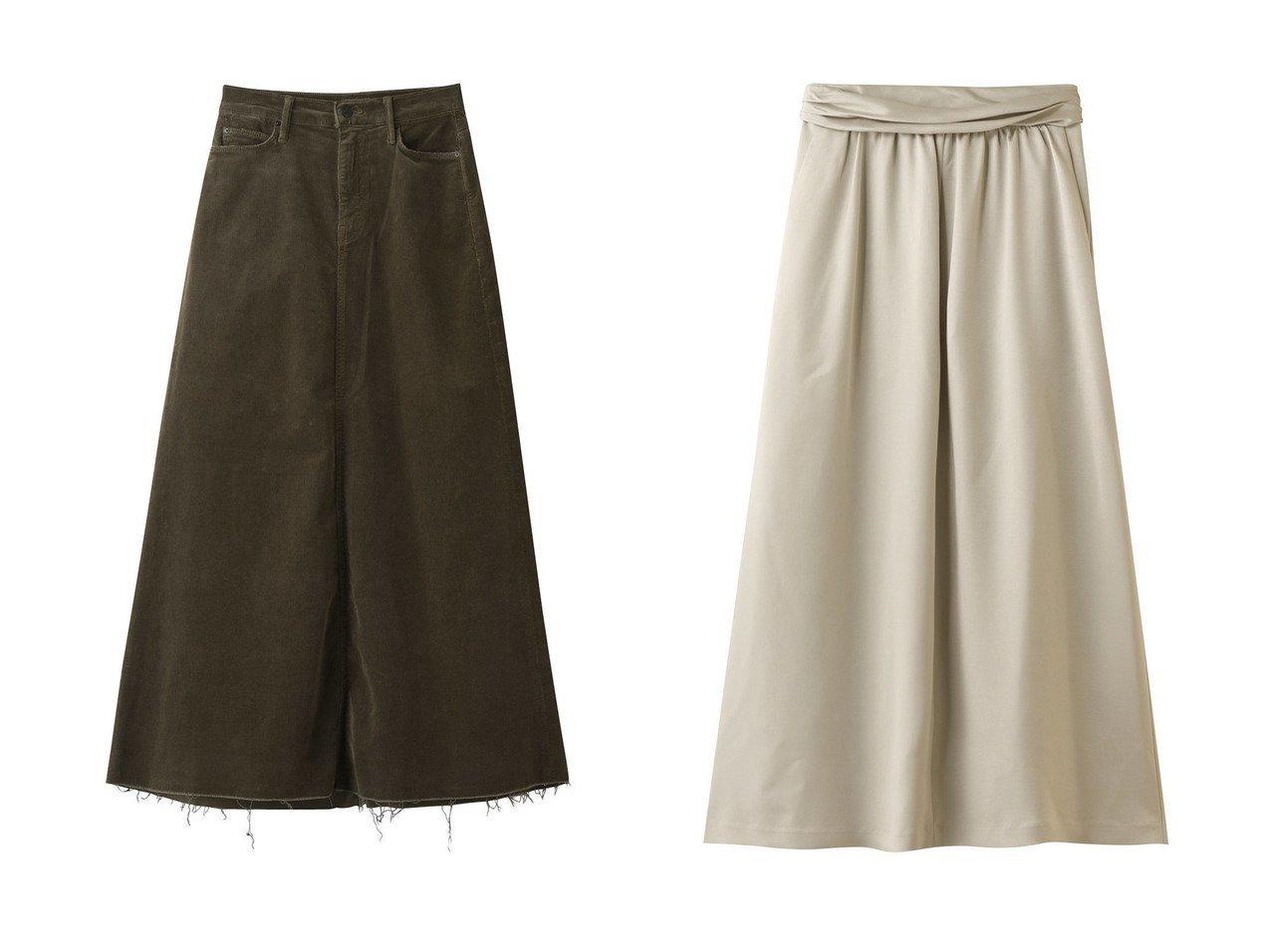 【heliopole/エリオポール】のスカート&【MOTHER/マザー】の【日本限定】THE CIRCLE MAXI FRAY コーデュロイマキシスカート 【スカート】おすすめ!人気、トレンド・レディースファッションの通販   おすすめで人気の流行・トレンド、ファッションの通販商品 インテリア・家具・メンズファッション・キッズファッション・レディースファッション・服の通販 founy(ファニー) https://founy.com/ ファッション Fashion レディースファッション WOMEN スカート Skirt ロングスカート Long Skirt 2020年 2020 2020-2021秋冬・A/W AW・Autumn/Winter・FW・Fall-Winter/2020-2021 2021年 2021 2021-2022秋冬・A/W AW・Autumn/Winter・FW・Fall-Winter・2021-2022 A/W・秋冬 AW・Autumn/Winter・FW・Fall-Winter なめらか サテン ロング コーデュロイ マキシ 人気 |ID:crp329100000066092
