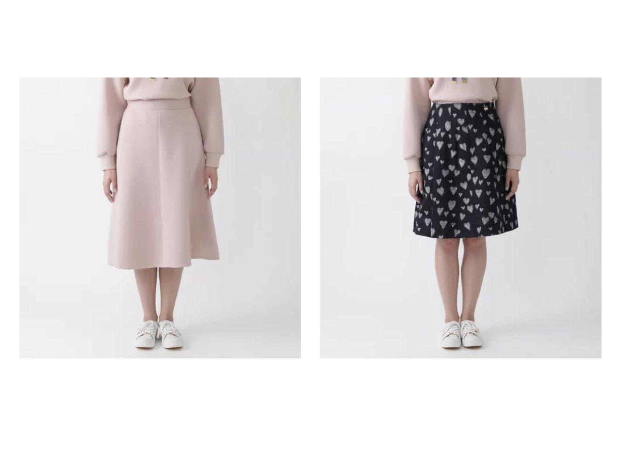 【BLUE LABEL CRESTBRIDGE/ブルーレーベル クレストブリッジ】のエアーダンボールジャージーフレアスカート&ハートフルジャカードデニムスカート 【スカート】おすすめ!人気、トレンド・レディースファッションの通販   おすすめで人気の流行・トレンド、ファッションの通販商品 インテリア・家具・メンズファッション・キッズファッション・レディースファッション・服の通販 founy(ファニー) https://founy.com/ ファッション Fashion レディースファッション WOMEN スカート Skirt デニムスカート Denim Skirts Aライン/フレアスカート Flared A-Line Skirts ショート デニム プリント おすすめ Recommend セットアップ フレアースカート |ID:crp329100000066096