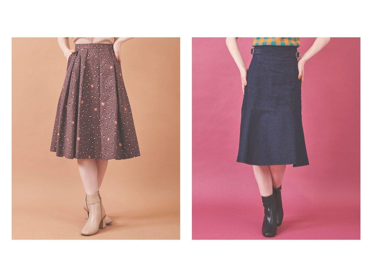 【31 Sons de mode/トランテアン ソン ドゥ モード】のレオパード柄スカート&デニムマーメイドスカート 【スカート】おすすめ!人気、トレンド・レディースファッションの通販   おすすめで人気の流行・トレンド、ファッションの通販商品 インテリア・家具・メンズファッション・キッズファッション・レディースファッション・服の通販 founy(ファニー) https://founy.com/ ファッション Fashion レディースファッション WOMEN スカート Skirt ミニスカート Mini Skirts 2021年 2021 2021-2022秋冬・A/W AW・Autumn/Winter・FW・Fall-Winter・2021-2022 A/W・秋冬 AW・Autumn/Winter・FW・Fall-Winter 冬 Winter タイトスカート マーメイド トレンド フレア ミニスカート レオパード 秋 Autumn/Fall |ID:crp329100000066103