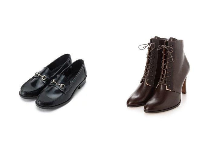 【LANVIN en Bleu/ランバン オン ブルー】のレースアップショートブーツ&【Dessin/デッサン】のHARUTA レザーローファー 【シューズ・靴】おすすめ!人気、トレンド・レディースファッションの通販   おすすめ人気トレンドファッション通販アイテム 人気、トレンドファッション・服の通販 founy(ファニー) ファッション Fashion レディースファッション WOMEN クラシカル シューズ 2021年 2021 2021-2022秋冬・A/W AW・Autumn/Winter・FW・Fall-Winter・2021-2022 A/W・秋冬 AW・Autumn/Winter・FW・Fall-Winter エレガント サイドジップ レース |ID:crp329100000066114