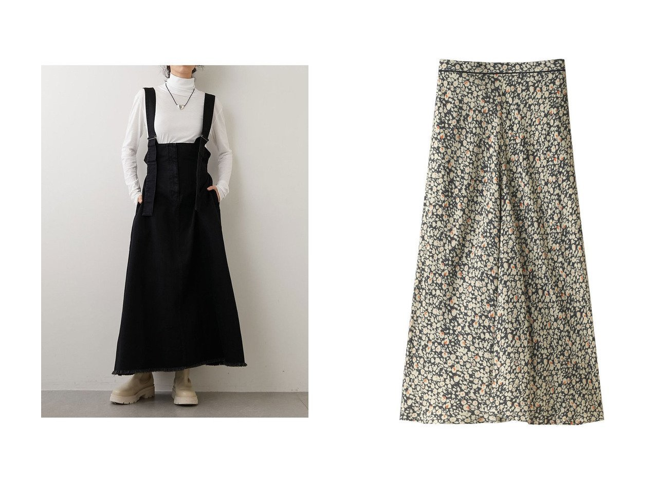 【DESIGN WORKS/デザイン ワークス】のフラワープリントフレアスカート&【Whim Gazette/ウィムガゼット】のデニムジャンパースカート 【スカート】おすすめ!人気、トレンド・レディースファッションの通販 おすすめで人気の流行・トレンド、ファッションの通販商品 インテリア・家具・メンズファッション・キッズファッション・レディースファッション・服の通販 founy(ファニー) https://founy.com/ ファッション Fashion レディースファッション WOMEN スカート Skirt Aライン/フレアスカート Flared A-Line Skirts ロングスカート Long Skirt 2020年 2020 2020-2021秋冬・A/W AW・Autumn/Winter・FW・Fall-Winter/2020-2021 2021年 2021 2021-2022秋冬・A/W AW・Autumn/Winter・FW・Fall-Winter・2021-2022 A/W・秋冬 AW・Autumn/Winter・FW・Fall-Winter なめらか フレア ロング |ID:crp329100000066330