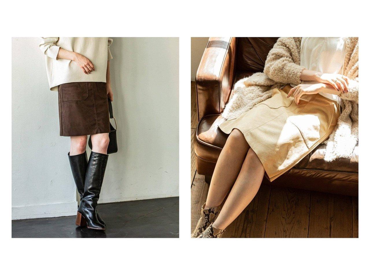 【NOBLE / Spick & Span/ノーブル / スピック&スパン】のフェイクスエードビッグポケットミニスカート 【スカート】おすすめ!人気、トレンド・レディースファッションの通販 おすすめで人気の流行・トレンド、ファッションの通販商品 インテリア・家具・メンズファッション・キッズファッション・レディースファッション・服の通販 founy(ファニー) https://founy.com/ ファッション Fashion レディースファッション WOMEN スカート Skirt ミニスカート Mini Skirts バランス フェイクスエード ボトム ポケット ミニスカート ロング A/W・秋冬 AW・Autumn/Winter・FW・Fall-Winter 2021年 2021 2021-2022秋冬・A/W AW・Autumn/Winter・FW・Fall-Winter・2021-2022 |ID:crp329100000066335