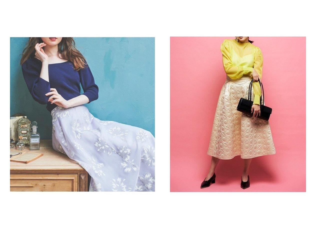 【CELFORD/セルフォード】のオリジナルキルティングスカート&【Noela/ノエラ】の【WEB限定カラーあり】2色フロッキースカートコーデセット 【スカート】おすすめ!人気、トレンド・レディースファッションの通販 おすすめで人気の流行・トレンド、ファッションの通販商品 インテリア・家具・メンズファッション・キッズファッション・レディースファッション・服の通販 founy(ファニー) https://founy.com/ ファッション Fashion レディースファッション WOMEN スカート Skirt ロングスカート Long Skirt NEW・新作・新着・新入荷 New Arrivals シンプル キルト ヨーク ロング 切替 |ID:crp329100000066336