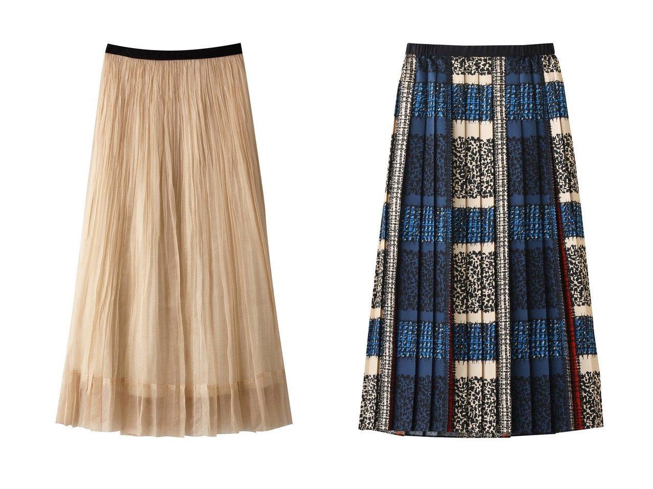 【HOUSE OF LOTUS/ハウス オブ ロータス】のシルクオーガンジープリーツスカート&【allureville/アルアバイル】のジオメトリックチェックプリーツスカート 【スカート】おすすめ!人気、トレンド・レディースファッションの通販 おすすめで人気の流行・トレンド、ファッションの通販商品 インテリア・家具・メンズファッション・キッズファッション・レディースファッション・服の通販 founy(ファニー) https://founy.com/ ファッション Fashion レディースファッション WOMEN スカート Skirt プリーツスカート Pleated Skirts ロングスカート Long Skirt 2020年 2020 2020-2021秋冬・A/W AW・Autumn/Winter・FW・Fall-Winter/2020-2021 2021年 2021 2021-2022秋冬・A/W AW・Autumn/Winter・FW・Fall-Winter・2021-2022 A/W・秋冬 AW・Autumn/Winter・FW・Fall-Winter エアリー オーガンジー シアー シルク プリーツ ペチコート ロング |ID:crp329100000066645