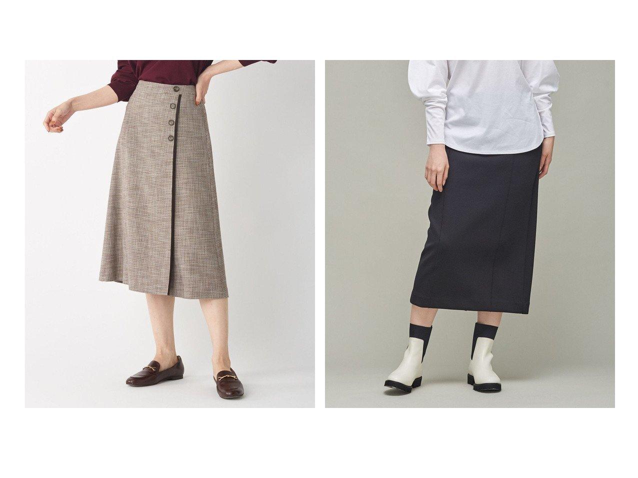 【J.PRESS/ジェイ プレス】の【洗える】RIOPERE MIXチェック スカート&【iCB/アイシービー】のヘヴィダンボール タイトスカート 【スカート】おすすめ!人気、トレンド・レディースファッションの通販 おすすめで人気の流行・トレンド、ファッションの通販商品 インテリア・家具・メンズファッション・キッズファッション・レディースファッション・服の通販 founy(ファニー) https://founy.com/ ファッション Fashion レディースファッション WOMEN スカート Skirt 洗える シンプル スエード ストレッチ チェック トリミング トレンド バランス フラット 送料無料 Free Shipping セットアップ タイトスカート パーカー リラックス 冬 Winter A/W・秋冬 AW・Autumn/Winter・FW・Fall-Winter 2021年 2021 2021-2022秋冬・A/W AW・Autumn/Winter・FW・Fall-Winter・2021-2022 おすすめ Recommend |ID:crp329100000066646