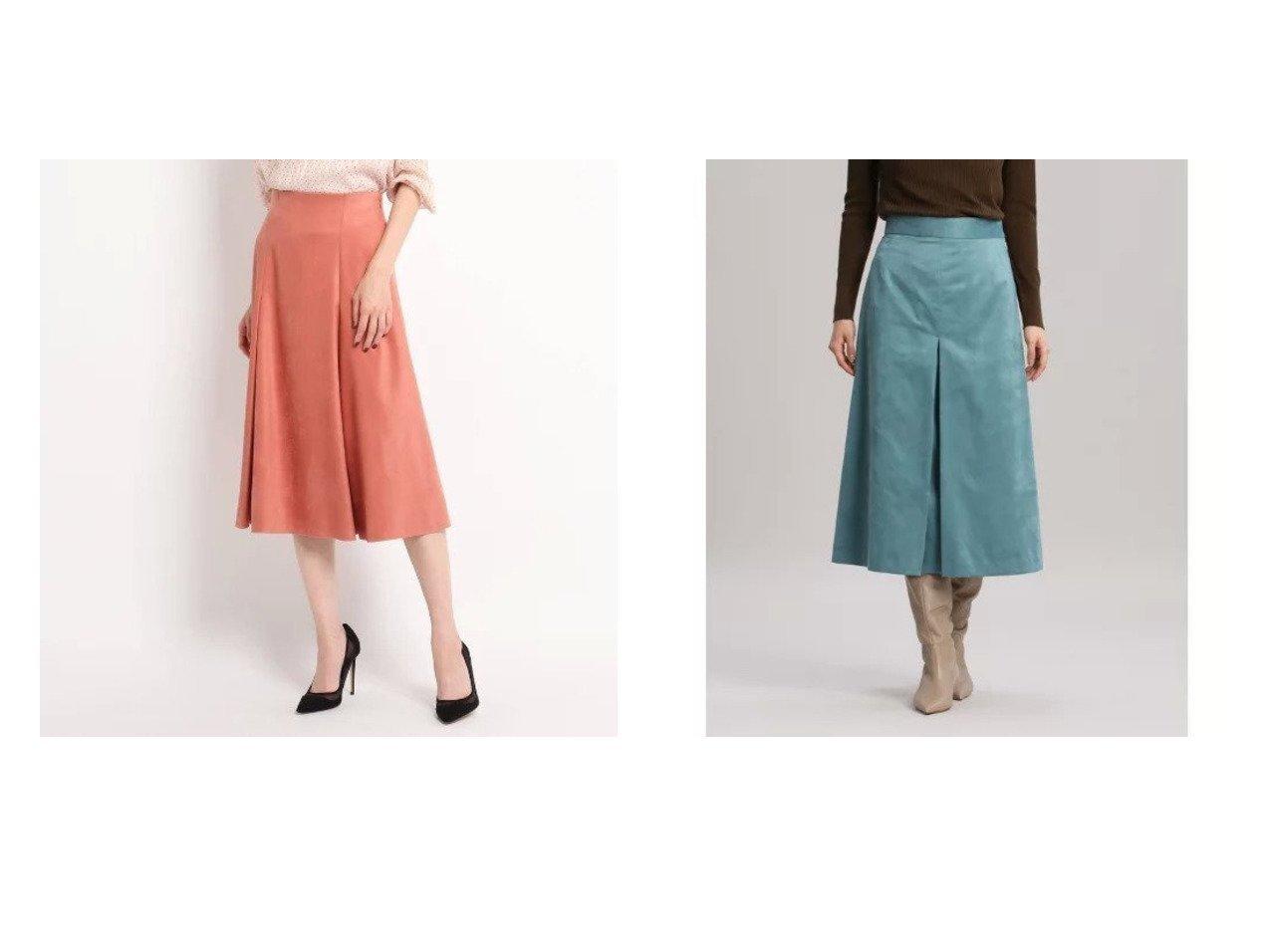 【COUP DE CHANCE/クード シャンス】のフェイクスェード フレアスカート&【INED/イネド】のフェイクスエードボックススカート《KOMASUEDE》 【スカート】おすすめ!人気、トレンド・レディースファッションの通販 おすすめで人気の流行・トレンド、ファッションの通販商品 インテリア・家具・メンズファッション・キッズファッション・レディースファッション・服の通販 founy(ファニー) https://founy.com/ ファッション Fashion レディースファッション WOMEN スカート Skirt Aライン/フレアスカート Flared A-Line Skirts ジャケット スエード スーツ フレア ポケット 切替 エレガント サンダル ショート ストレッチ センター プリーツ ベーシック ボックス リアル おすすめ Recommend |ID:crp329100000066659