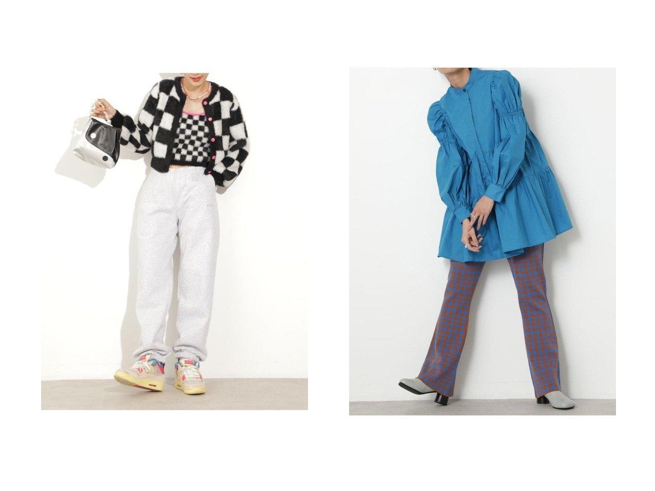【ROSE BUD/ローズバッド】のスウェットパンツ&フラッグチェック柄パンツ 【パンツ】おすすめ!人気、トレンド・レディースファッションの通販 おすすめで人気の流行・トレンド、ファッションの通販商品 インテリア・家具・メンズファッション・キッズファッション・レディースファッション・服の通販 founy(ファニー) https://founy.com/ ファッション Fashion レディースファッション WOMEN パンツ Pants 2020年 2020 2020-2021秋冬・A/W AW・Autumn/Winter・FW・Fall-Winter/2020-2021 2021年 2021 2021-2022秋冬・A/W AW・Autumn/Winter・FW・Fall-Winter・2021-2022 A/W・秋冬 AW・Autumn/Winter・FW・Fall-Winter おすすめ Recommend セットアップ モノトーン ロング 定番 Standard チェック フレア ポケット ミックス |ID:crp329100000067212