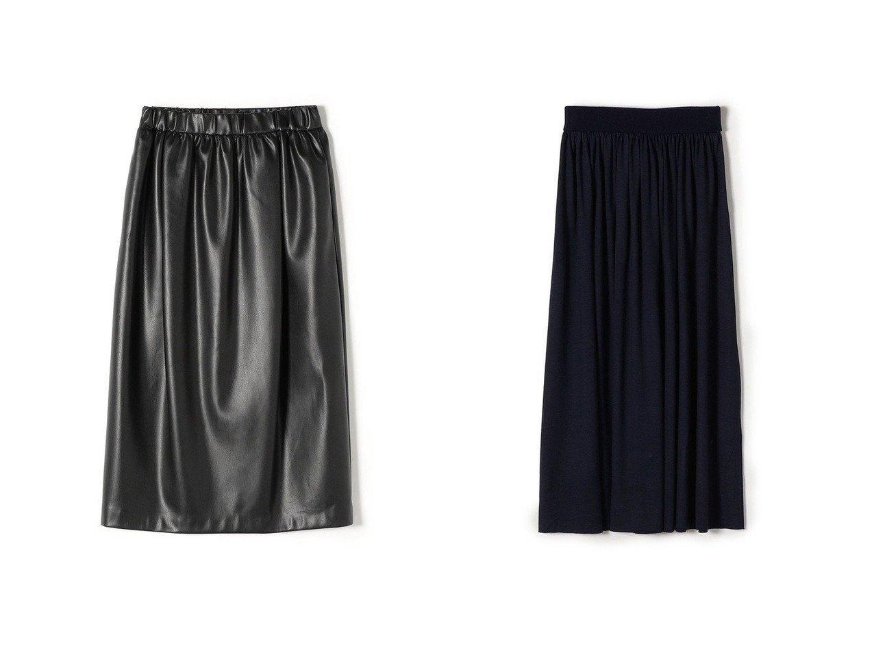 【SHIPS/シップス フォー ウィメン】のPrimary NavyLabel 〈手洗い可能〉ウールジャージースカート&Primary NavyLabel フェイクレザースカート 【スカート】おすすめ!人気、トレンド・レディースファッションの通販 おすすめで人気の流行・トレンド、ファッションの通販商品 インテリア・家具・メンズファッション・キッズファッション・レディースファッション・服の通販 founy(ファニー) https://founy.com/ ファッション Fashion レディースファッション WOMEN スカート Skirt Aライン/フレアスカート Flared A-Line Skirts バルーン フェイクレザー ベーシック 再入荷 Restock/Back in Stock/Re Arrival ギャザー フレア |ID:crp329100000067245