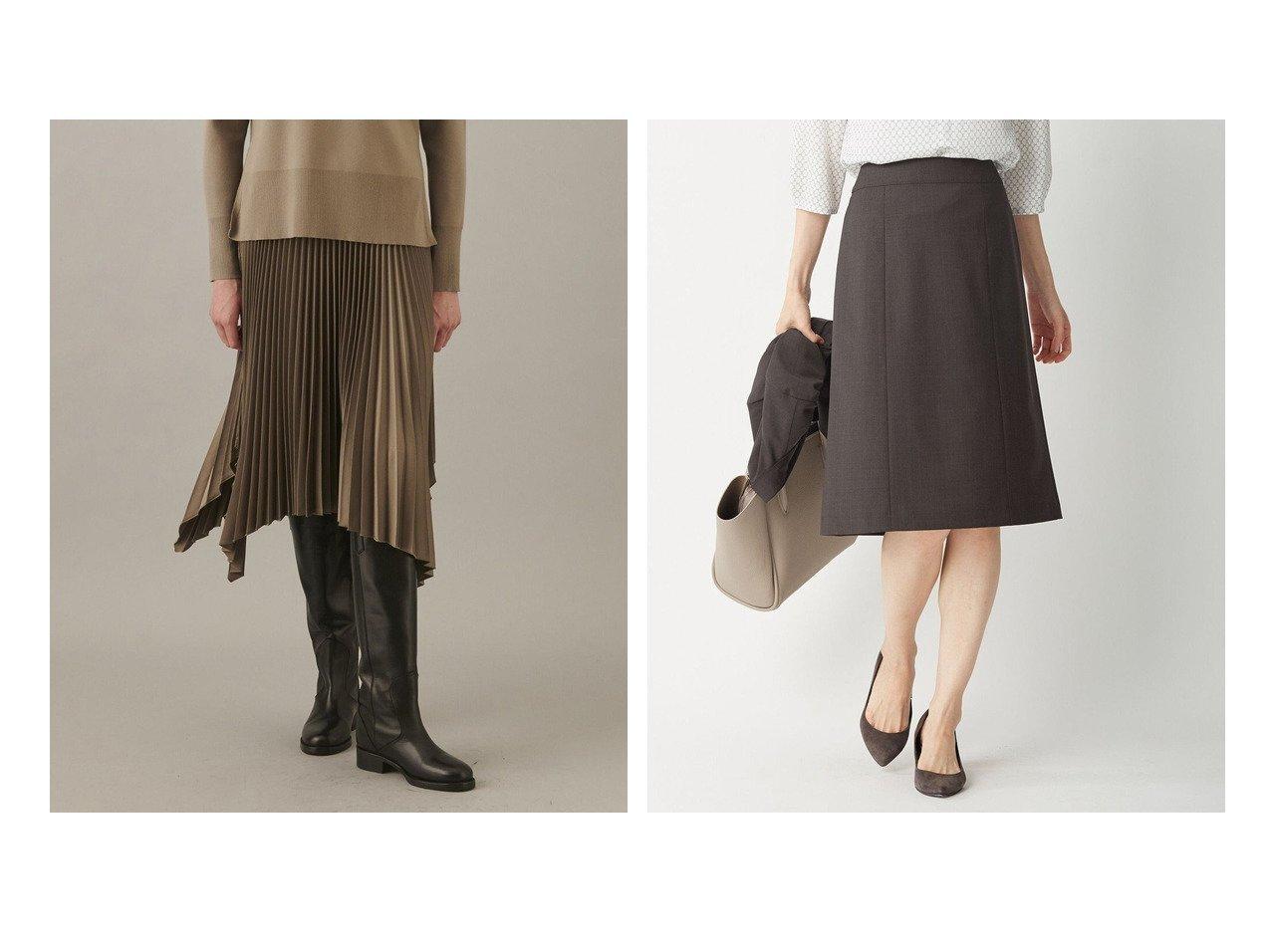 【JOSEPH/ジョゼフ】のニットウェーブプリーツ スカート&【J.PRESS/ジェイ プレス】のBAHARIYE NEW スカート 【スカート】おすすめ!人気、トレンド・レディースファッションの通販 おすすめで人気の流行・トレンド、ファッションの通販商品 インテリア・家具・メンズファッション・キッズファッション・レディースファッション・服の通販 founy(ファニー) https://founy.com/ ファッション Fashion レディースファッション WOMEN スカート Skirt プリーツスカート Pleated Skirts ジャケット 定番 Standard 送料無料 Free Shipping イレギュラーヘム シンプル ドレープ プリーツ 再入荷 Restock/Back in Stock/Re Arrival |ID:crp329100000067248