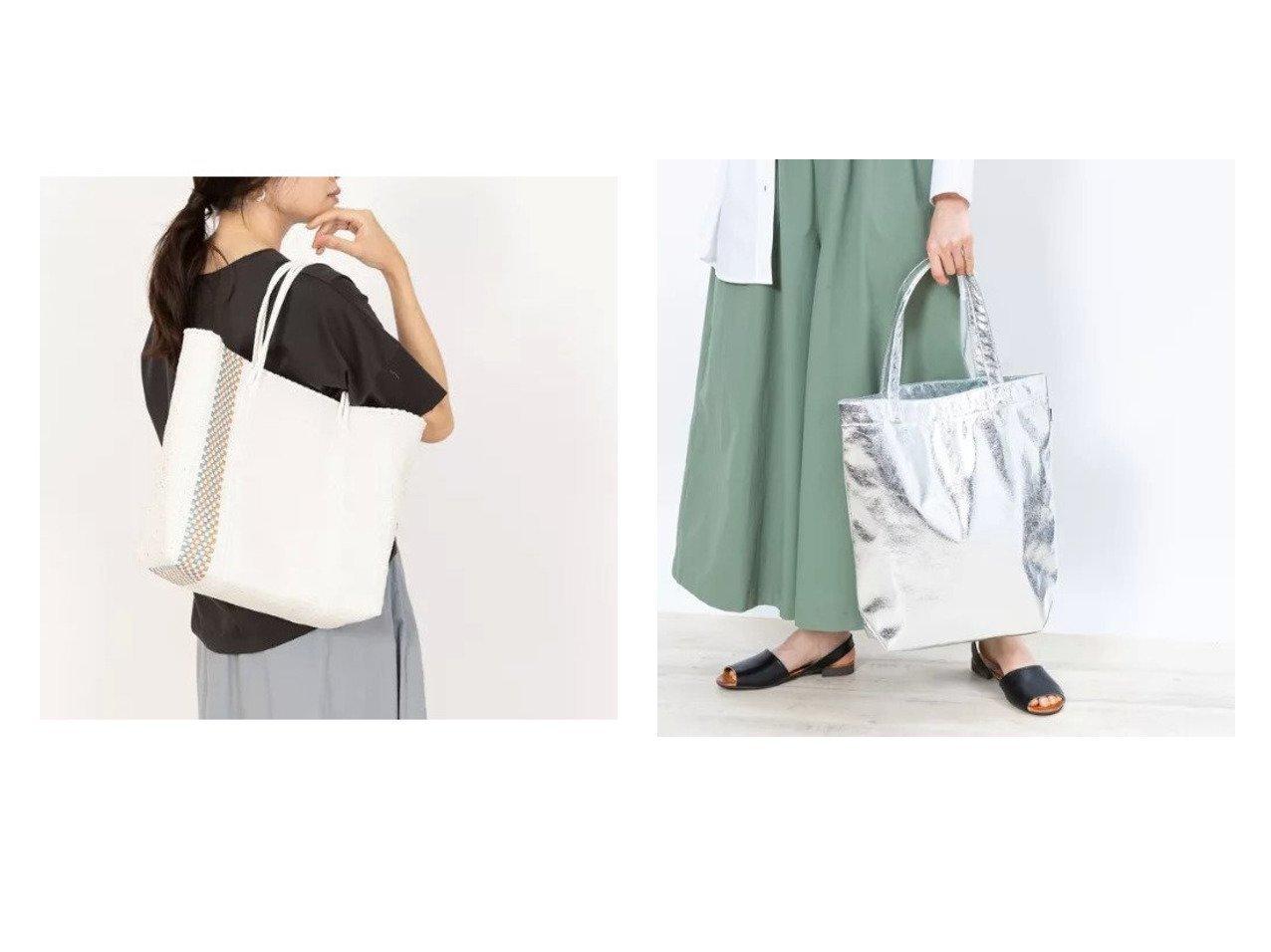 【collex/コレックス】の《定番人気》メタリックトートバッグ&【Moon Bird】メルカドバッグ ストライプ柄 【バッグ・鞄】おすすめ!人気、トレンド・レディースファッションの通販 おすすめで人気の流行・トレンド、ファッションの通販商品 インテリア・家具・メンズファッション・キッズファッション・レディースファッション・服の通販 founy(ファニー) https://founy.com/ ファッション Fashion レディースファッション WOMEN バッグ Bag ストライプ おすすめ Recommend シンプル ポケット メタリック 人気 定番 Standard  ID:crp329100000067318