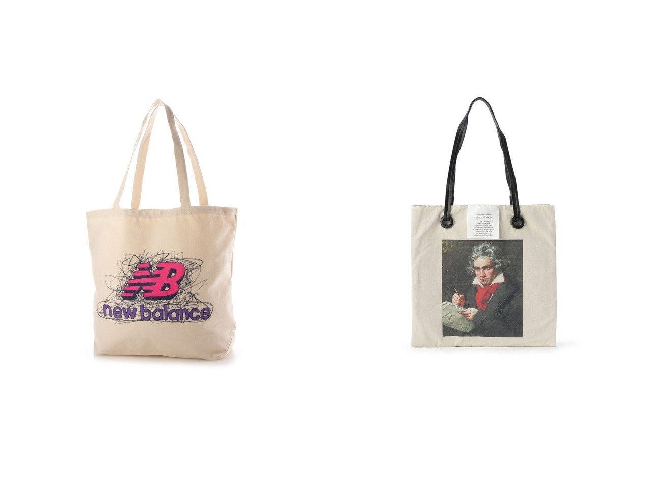 【OberTashe/オーバータッシェ】のIJIN3ROOMトート&【new balance/ニューバランス】のトートバッグ キャンバストートバック_ JABL1716 【バッグ・鞄】おすすめ!人気、トレンド・レディースファッションの通販 おすすめで人気の流行・トレンド、ファッションの通販商品 インテリア・家具・メンズファッション・キッズファッション・レディースファッション・服の通販 founy(ファニー) https://founy.com/ ファッション Fashion レディースファッション WOMEN バッグ Bag 2021年 2021 2021-2022秋冬・A/W AW・Autumn/Winter・FW・Fall-Winter・2021-2022 A/W・秋冬 AW・Autumn/Winter・FW・Fall-Winter バランス ポケット 財布 フェイクレザー プリント  ID:crp329100000067321