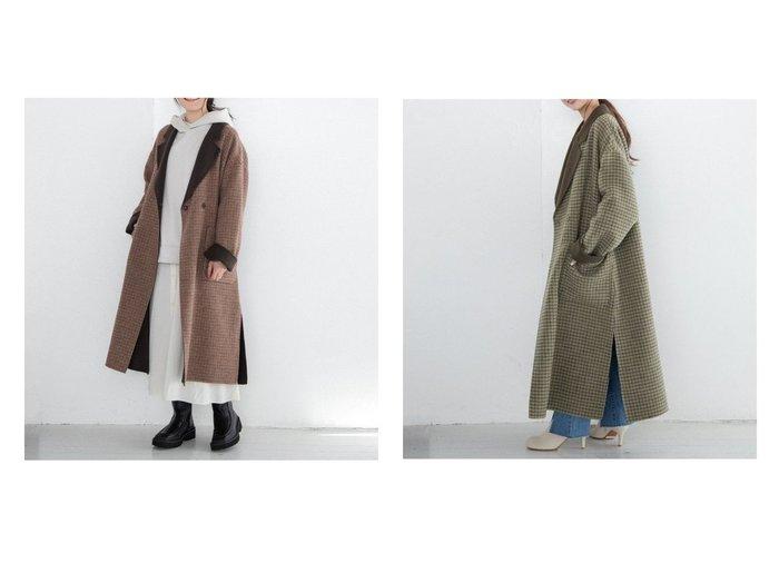 【LOWRYS FARM/ローリーズファーム】のメリノWフェイスCHRVコート 【アウター】おすすめ!人気、トレンド・レディースファッションの通販 おすすめ人気トレンドファッション通販アイテム 人気、トレンドファッション・服の通販 founy(ファニー) ファッション Fashion レディースファッション WOMEN アウター Coat Outerwear コート Coats ジャケット Jackets NEW・新作・新着・新入荷 New Arrivals ジャケット フェイス リバーシブル ロング |ID:crp329100000067369