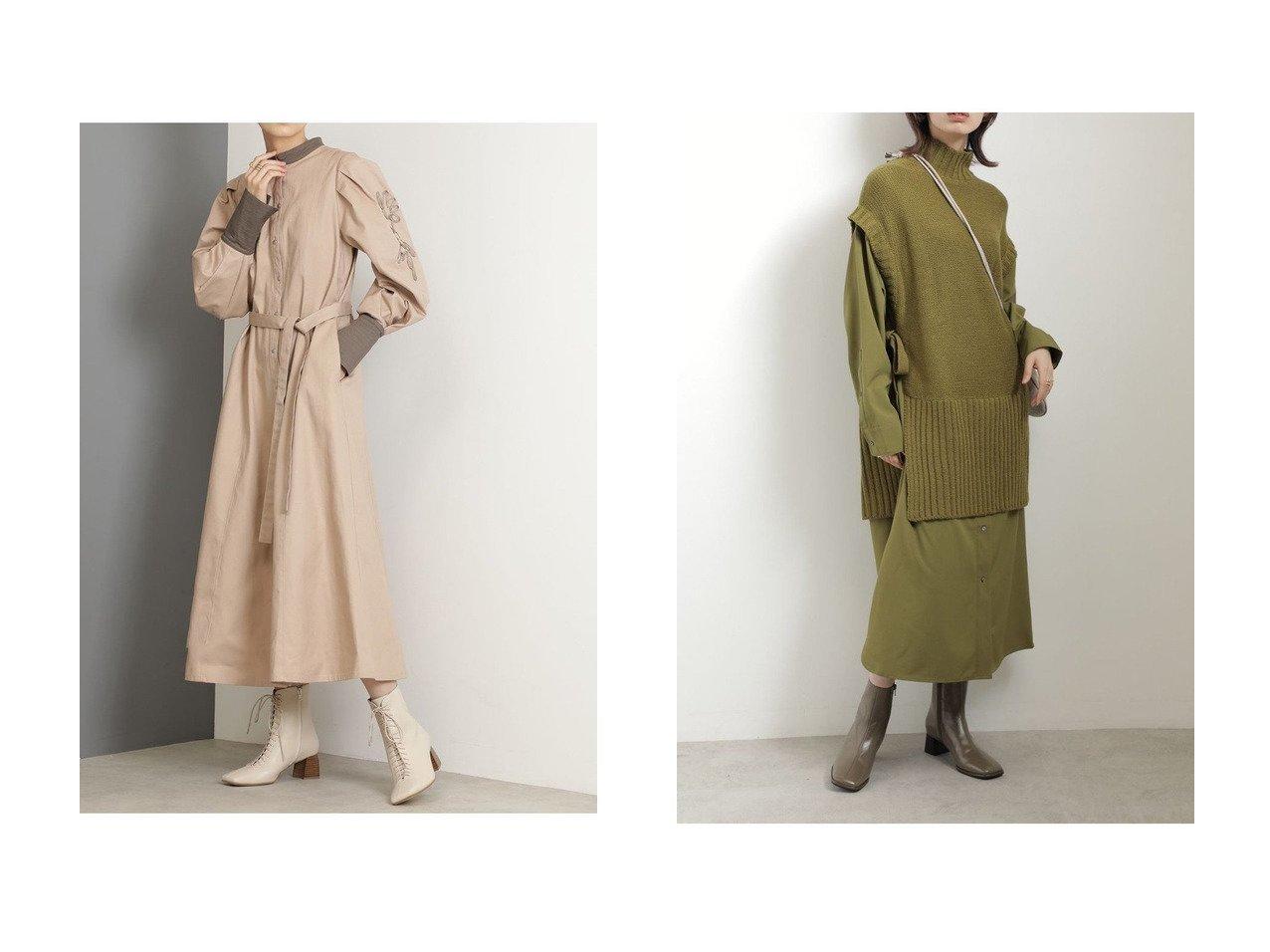 【ROSE BUD/ローズバッド】のコード刺繍ワンピース&ニットドッキングワンピース 【ワンピース・ドレス】おすすめ!人気、トレンド・レディースファッションの通販 おすすめで人気の流行・トレンド、ファッションの通販商品 インテリア・家具・メンズファッション・キッズファッション・レディースファッション・服の通販 founy(ファニー) https://founy.com/ ファッション Fashion レディースファッション WOMEN ワンピース Dress チュニック Tunic 2020年 2020 2020-2021秋冬・A/W AW・Autumn/Winter・FW・Fall-Winter/2020-2021 2021年 2021 2021-2022秋冬・A/W AW・Autumn/Winter・FW・Fall-Winter・2021-2022 A/W・秋冬 AW・Autumn/Winter・FW・Fall-Winter ストレート チュニック ドッキング ベスト ロング スリーブ 羽織  ID:crp329100000067384