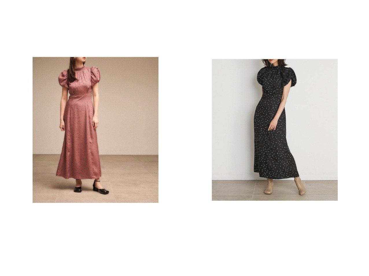 【SNIDEL/スナイデル】のSustainableギャザーパフスリワンピース 【ワンピース・ドレス】おすすめ!人気、トレンド・レディースファッションの通販 おすすめで人気の流行・トレンド、ファッションの通販商品 インテリア・家具・メンズファッション・キッズファッション・レディースファッション・服の通販 founy(ファニー) https://founy.com/ ファッション Fashion レディースファッション WOMEN ワンピース Dress ギャザー スタンド スマート スリーブ ツイル ロング A/W・秋冬 AW・Autumn/Winter・FW・Fall-Winter 2021年 2021 2021-2022秋冬・A/W AW・Autumn/Winter・FW・Fall-Winter・2021-2022  ID:crp329100000067392