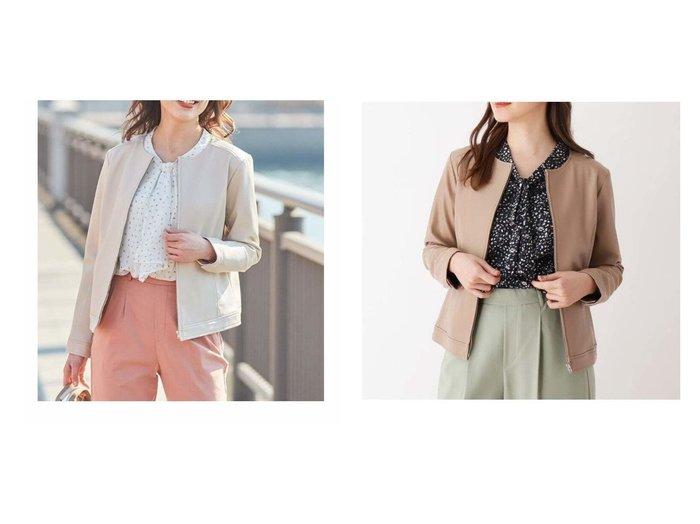 【SHOO LA RUE/シューラルー】の【S-L】エコレザーノ-カラ-ブルゾン 【プチプライス・低価格】おすすめ!人気、トレンド・レディースファッションの通販 おすすめ人気トレンドファッション通販アイテム 人気、トレンドファッション・服の通販 founy(ファニー)  ファッション Fashion レディースファッション WOMEN アウター Coat Outerwear コート Coats ジャケット Jackets ブルゾン Blouson/Jackets ライダース Riders Jacket コンパクト ジャケット ダウン フェイクレザー ブルゾン ベーシック ボトム ライダース ライダースジャケット ワイド |ID:crp329100000067559
