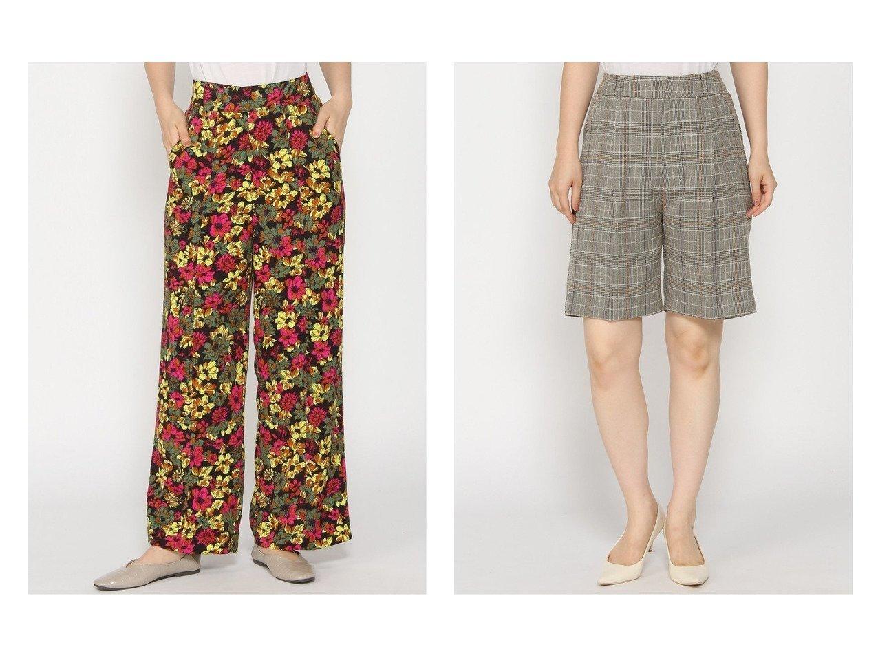 【JEANASiS/ジーナシス】のモールチェックSP&フラワーPTワイドストレートP おすすめ!人気、トレンド・レディースファッションの通販 おすすめで人気の流行・トレンド、ファッションの通販商品 インテリア・家具・メンズファッション・キッズファッション・レディースファッション・服の通販 founy(ファニー) https://founy.com/ ファッション Fashion レディースファッション WOMEN パンツ Pants ハーフ / ショートパンツ Short Pants NEW・新作・新着・新入荷 New Arrivals おすすめ Recommend シンプル ジーンズ ストレート フラワー プリント ワイド 夏 Summer 秋 Autumn/Fall ショート セットアップ チェック ハーフ バランス 別注 ロング |ID:crp329100000067613