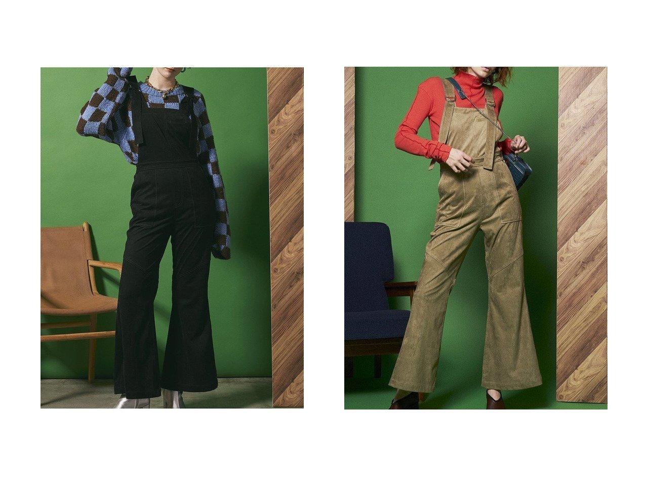 【MAISON SPECIAL/メゾンスペシャル】のエコスウェードロンパース 【パンツ】おすすめ!人気、トレンド・レディースファッションの通販 おすすめで人気の流行・トレンド、ファッションの通販商品 インテリア・家具・メンズファッション・キッズファッション・レディースファッション・服の通販 founy(ファニー) https://founy.com/ ファッション Fashion レディースファッション WOMEN パンツ Pants スウェード フレア ルーズ ロンパース  ID:crp329100000067660