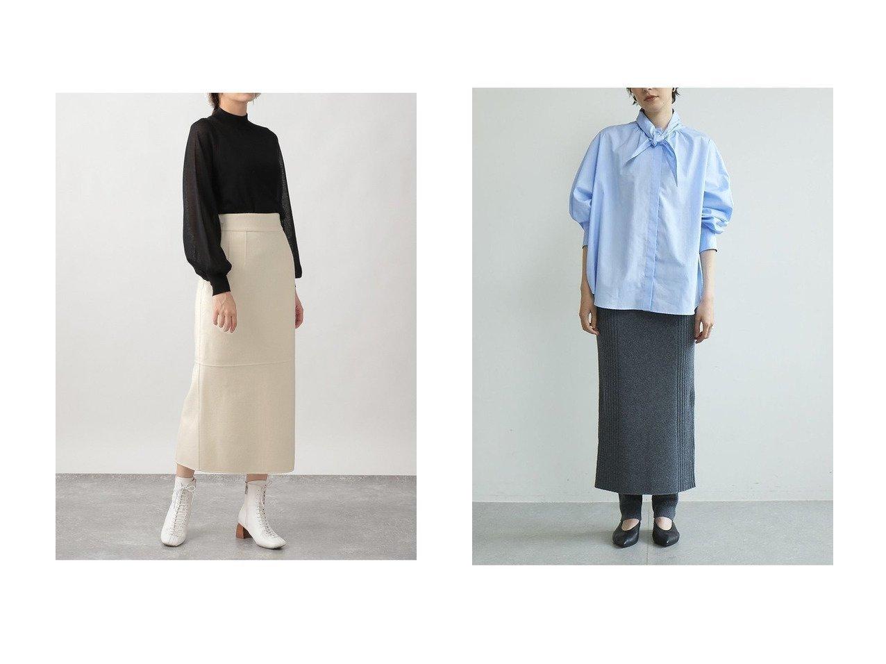 【GALLARDAGALANTE/ガリャルダガランテ】のリブニットスカート&【Ezick/エジック】のリバーメルトンタイトスカート 【スカート】おすすめ!人気、トレンド・レディースファッションの通販 おすすめで人気の流行・トレンド、ファッションの通販商品 インテリア・家具・メンズファッション・キッズファッション・レディースファッション・服の通販 founy(ファニー) https://founy.com/ ファッション Fashion レディースファッション WOMEN スカート Skirt ロングスカート Long Skirt 2020年 2020 2020-2021秋冬・A/W AW・Autumn/Winter・FW・Fall-Winter/2020-2021 2021年 2021 2021-2022秋冬・A/W AW・Autumn/Winter・FW・Fall-Winter・2021-2022 A/W・秋冬 AW・Autumn/Winter・FW・Fall-Winter おすすめ Recommend シンプル セットアップ タイトスカート ミドル メルトン ロング |ID:crp329100000067679