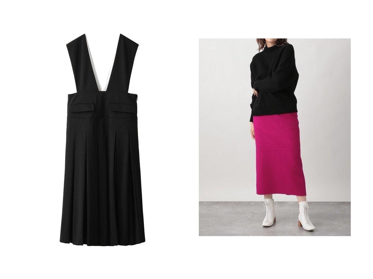 【Ezick/エジック】のリバーメルトンタイトスカート&【ENFOLD/エンフォルド】のドライウールジャンパースカート 【スカート】おすすめ!人気、トレンド・レディースファッションの通販 おすすめで人気の流行・トレンド、ファッションの通販商品 インテリア・家具・メンズファッション・キッズファッション・レディースファッション・服の通販 founy(ファニー) https://founy.com/ ファッション Fashion レディースファッション WOMEN スカート Skirt ロングスカート Long Skirt 2020年 2020 2020-2021秋冬・A/W AW・Autumn/Winter・FW・Fall-Winter/2020-2021 2021年 2021 2021-2022秋冬・A/W AW・Autumn/Winter・FW・Fall-Winter・2021-2022 A/W・秋冬 AW・Autumn/Winter・FW・Fall-Winter シンプル チュニック プリーツ ボックス ラップ ロング |ID:crp329100000067680