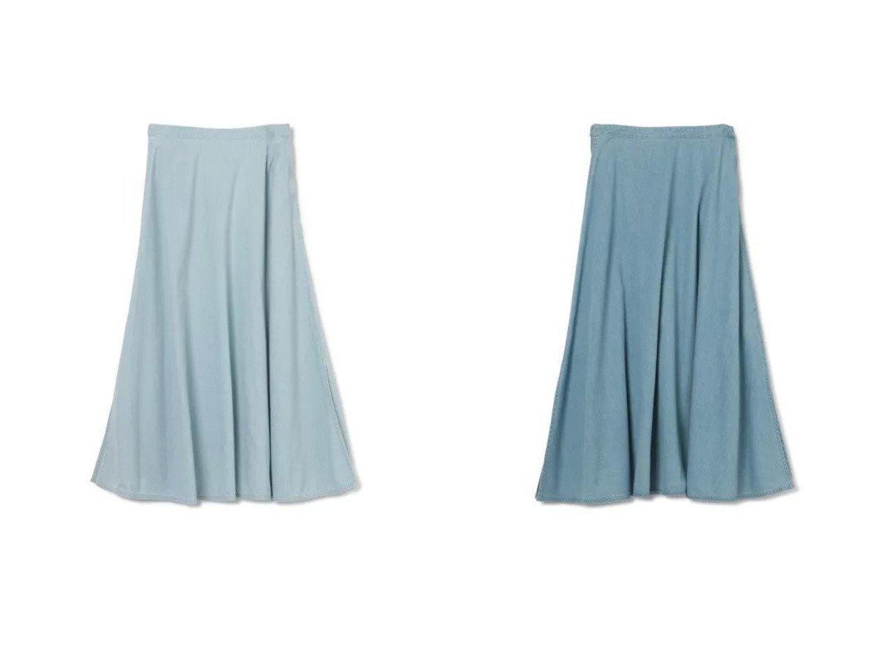 【KALNA/カルナ】のデニムロングスカート 【スカート】おすすめ!人気、トレンド・レディースファッションの通販 おすすめで人気の流行・トレンド、ファッションの通販商品 インテリア・家具・メンズファッション・キッズファッション・レディースファッション・服の通販 founy(ファニー) https://founy.com/ ファッション Fashion レディースファッション WOMEN スカート Skirt ロングスカート Long Skirt チェック デニム フェミニン フレア マキシ ロング ヴィンテージ 洗える 長袖 |ID:crp329100000067689