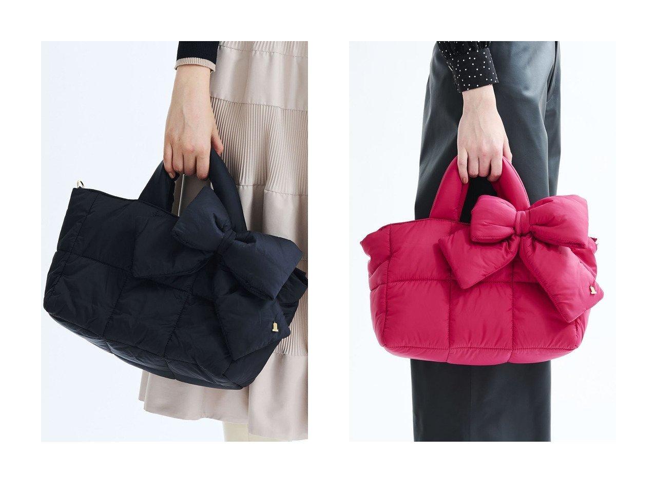 【LANVIN en Bleu/ランバン オン ブルー】のキルティングトートバッグ 【バッグ・鞄】おすすめ!人気、トレンド・レディースファッションの通販 おすすめで人気の流行・トレンド、ファッションの通販商品 インテリア・家具・メンズファッション・キッズファッション・レディースファッション・服の通販 founy(ファニー) https://founy.com/ ファッション Fashion レディースファッション WOMEN バッグ Bag キルティング ショルダー ビッグ ベーシック ポケット リボン |ID:crp329100000067734