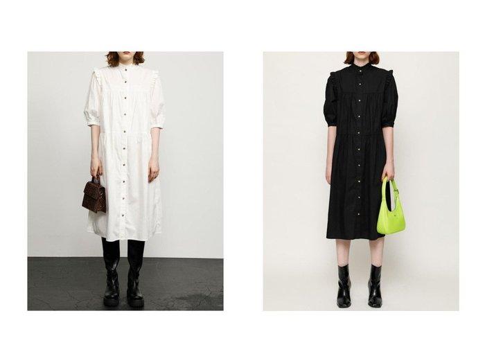 【SLY/スライ】のFRILL SHOULDER LONG ワンピース おすすめ!人気、トレンド・レディースファッションの通販 おすすめ人気トレンドファッション通販アイテム 人気、トレンドファッション・服の通販 founy(ファニー)  ファッション Fashion レディースファッション WOMEN ワンピース Dress マキシワンピース Maxi Dress おすすめ Recommend バランス マキシ ロング 今季 |ID:crp329100000068144