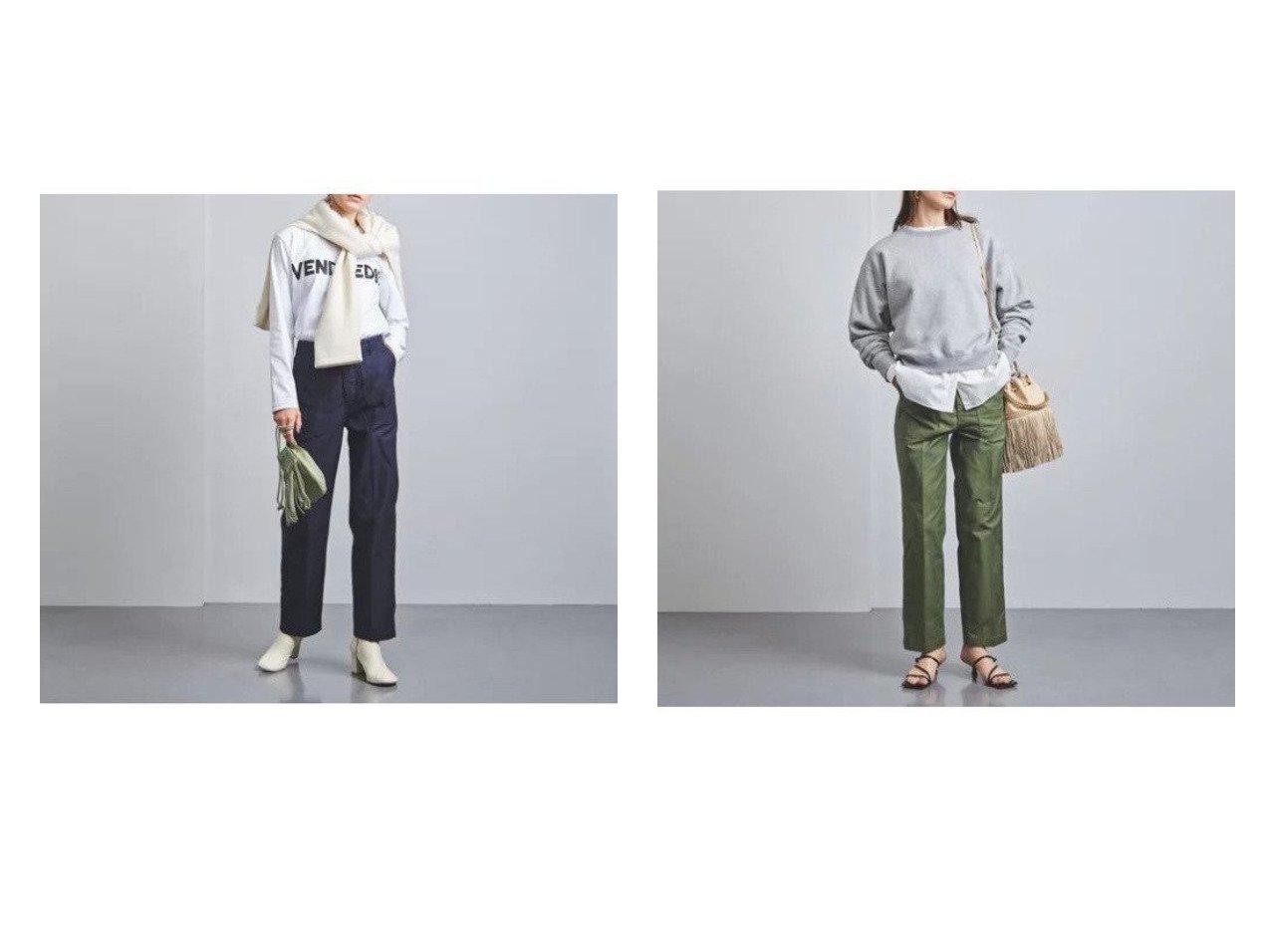 【UNITED ARROWS/ユナイテッドアローズ】のベイカーパンツ W 【パンツ】おすすめ!人気、トレンド・レディースファッションの通販 おすすめで人気の流行・トレンド、ファッションの通販商品 インテリア・家具・メンズファッション・キッズファッション・レディースファッション・服の通販 founy(ファニー) https://founy.com/ ファッション Fashion レディースファッション WOMEN パンツ Pants テーパード  ID:crp329100000068180