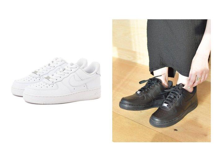 【NIKE/ナイキ】の【WEB限定】 ナイキ エア フォース1 07 【シューズ・靴】おすすめ!人気、トレンド・レディースファッションの通販 おすすめ人気トレンドファッション通販アイテム 人気、トレンドファッション・服の通販 founy(ファニー) ファッション Fashion レディースファッション WOMEN NEW・新作・新着・新入荷 New Arrivals シューズ スニーカー スリッポン トレンド 人気  ID:crp329100000068246