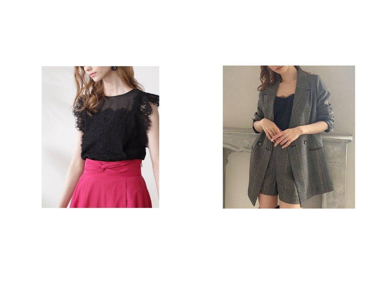 【Pinky&Dianne/ピンキーアンドダイアン】のレースコンビシアーブラウス&【RESEXXY/リゼクシー】のパイピングポイントジャケット おすすめ!人気、トレンド・レディースファッションの通販 おすすめで人気の流行・トレンド、ファッションの通販商品 インテリア・家具・メンズファッション・キッズファッション・レディースファッション・服の通販 founy(ファニー) https://founy.com/ ファッション Fashion レディースファッション WOMEN トップス・カットソー Tops/Tshirt シャツ/ブラウス Shirts/Blouses アウター Coat Outerwear ジャケット Jackets 2021年 2021 2021-2022秋冬・A/W AW・Autumn/Winter・FW・Fall-Winter・2021-2022 A/W・秋冬 AW・Autumn/Winter・FW・Fall-Winter インナー キャミソール スカラップ フェミニン ラッセル レース おすすめ Recommend セットアップ ワイド 人気 定番 Standard 春 Spring 秋 Autumn/Fall |ID:crp329100000068382