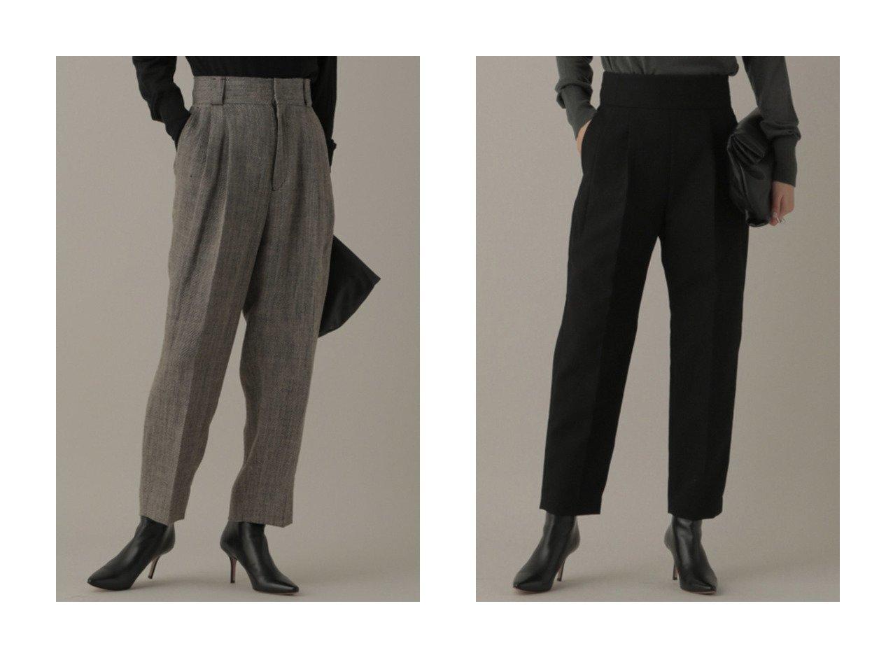 【Chaos/カオス】の【WEB】ウールオックステーパード&【WEB】オーバータックトラウザー 【パンツ】おすすめ!人気、トレンド・レディースファッションの通販 おすすめで人気の流行・トレンド、ファッションの通販商品 インテリア・家具・メンズファッション・キッズファッション・レディースファッション・服の通販 founy(ファニー) https://founy.com/ ファッション Fashion レディースファッション WOMEN パンツ Pants 2020年 2020 2020-2021秋冬・A/W AW・Autumn/Winter・FW・Fall-Winter/2020-2021 2021年 2021 2021-2022秋冬・A/W AW・Autumn/Winter・FW・Fall-Winter・2021-2022 A/W・秋冬 AW・Autumn/Winter・FW・Fall-Winter ストレート スリム エレガント クラシカル パターン フレンチ ヘリンボーン リネン  ID:crp329100000068440