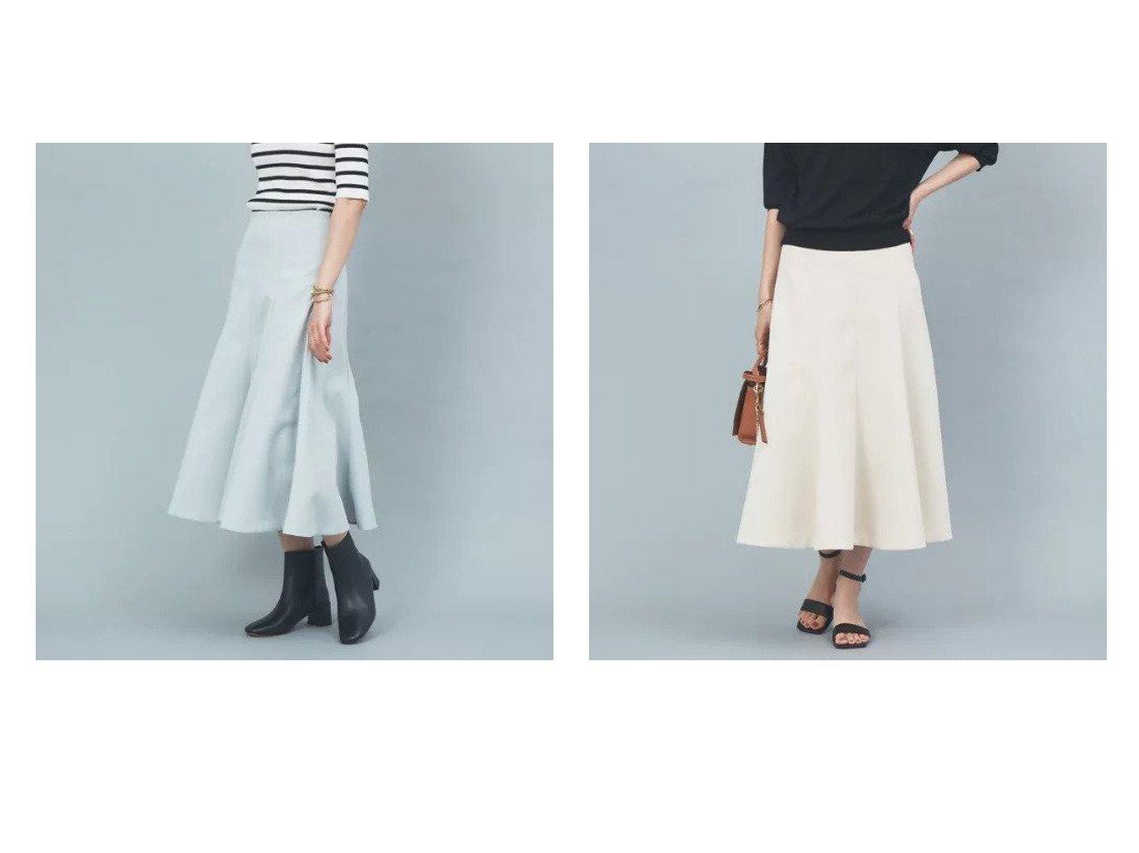 【Rouge vif/ルージュ ヴィフ】のツィル切り替えフレアスカート 【スカート】おすすめ!人気、トレンド・レディースファッションの通販 おすすめで人気の流行・トレンド、ファッションの通販商品 インテリア・家具・メンズファッション・キッズファッション・レディースファッション・服の通販 founy(ファニー) https://founy.com/ ファッション Fashion レディースファッション WOMEN スカート Skirt Aライン/フレアスカート Flared A-Line Skirts おすすめ Recommend コンパクト フィット フェミニン フレア ボトム  ID:crp329100000068450