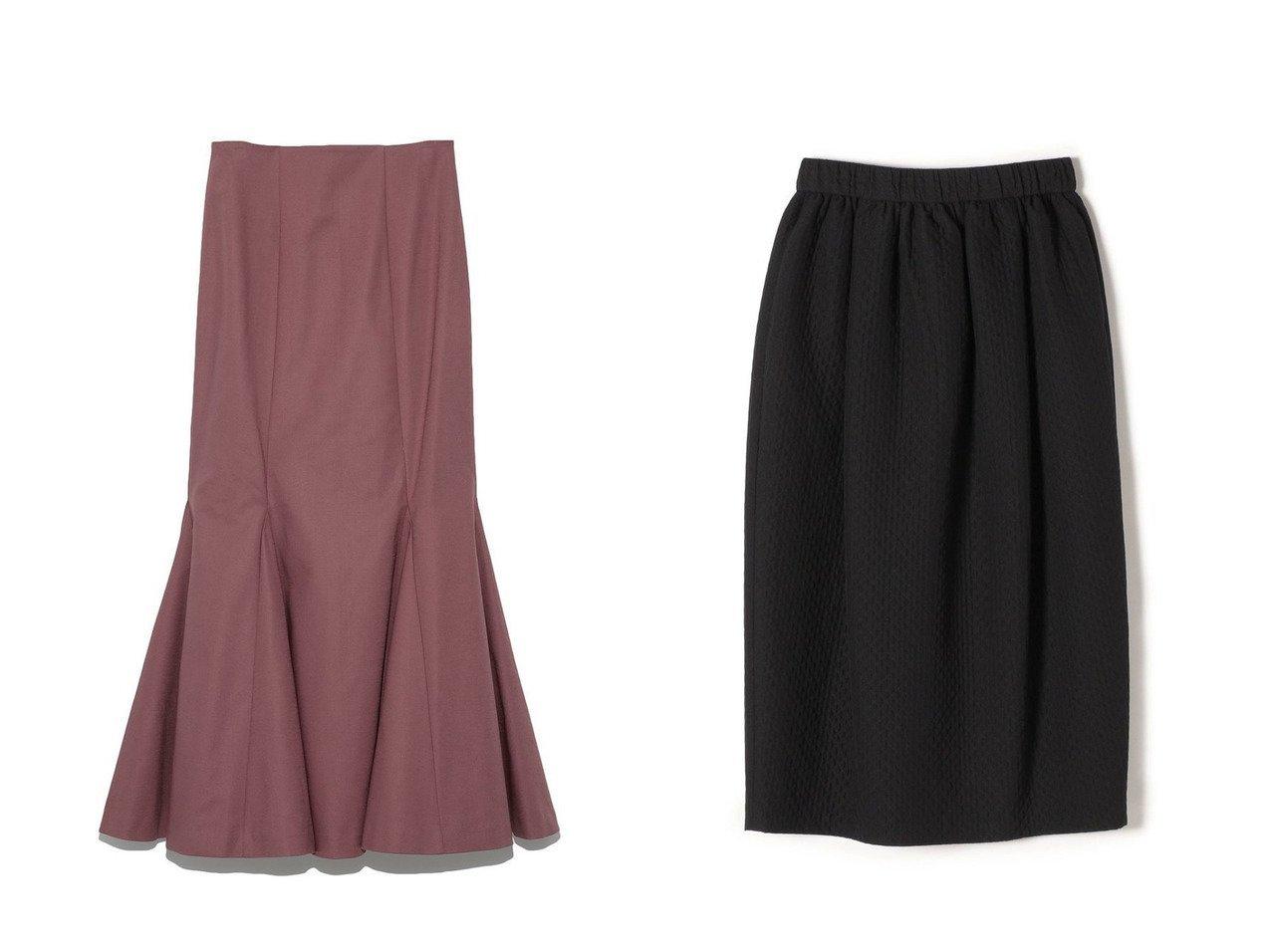 【SHIPS/シップス フォー ウィメン】のPrimary NavyLabel マトラッセジャガードスカート&【Lily Brown/リリーブラウン】のマーメイドスカート 【スカート】おすすめ!人気、トレンド・レディースファッションの通販 おすすめで人気の流行・トレンド、ファッションの通販商品 インテリア・家具・メンズファッション・キッズファッション・レディースファッション・服の通販 founy(ファニー) https://founy.com/ ファッション Fashion レディースファッション WOMEN スカート Skirt ロングスカート Long Skirt キルティング バルーン ベーシック マーメイド リラックス ロング  ID:crp329100000068452