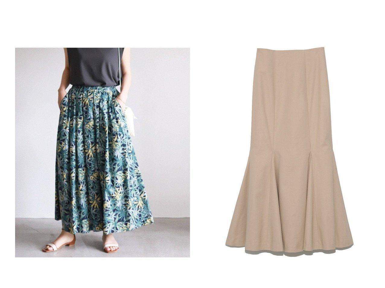 【SLOBE IENA/スローブ イエナ】の2 タックフレアスカート&【Lily Brown/リリーブラウン】のマーメイドスカート 【スカート】おすすめ!人気、トレンド・レディースファッションの通販 おすすめで人気の流行・トレンド、ファッションの通販商品 インテリア・家具・メンズファッション・キッズファッション・レディースファッション・服の通販 founy(ファニー) https://founy.com/ ファッション Fashion レディースファッション WOMEN スカート Skirt ロングスカート Long Skirt Aライン/フレアスカート Flared A-Line Skirts マーメイド リラックス ロング  ID:crp329100000068453