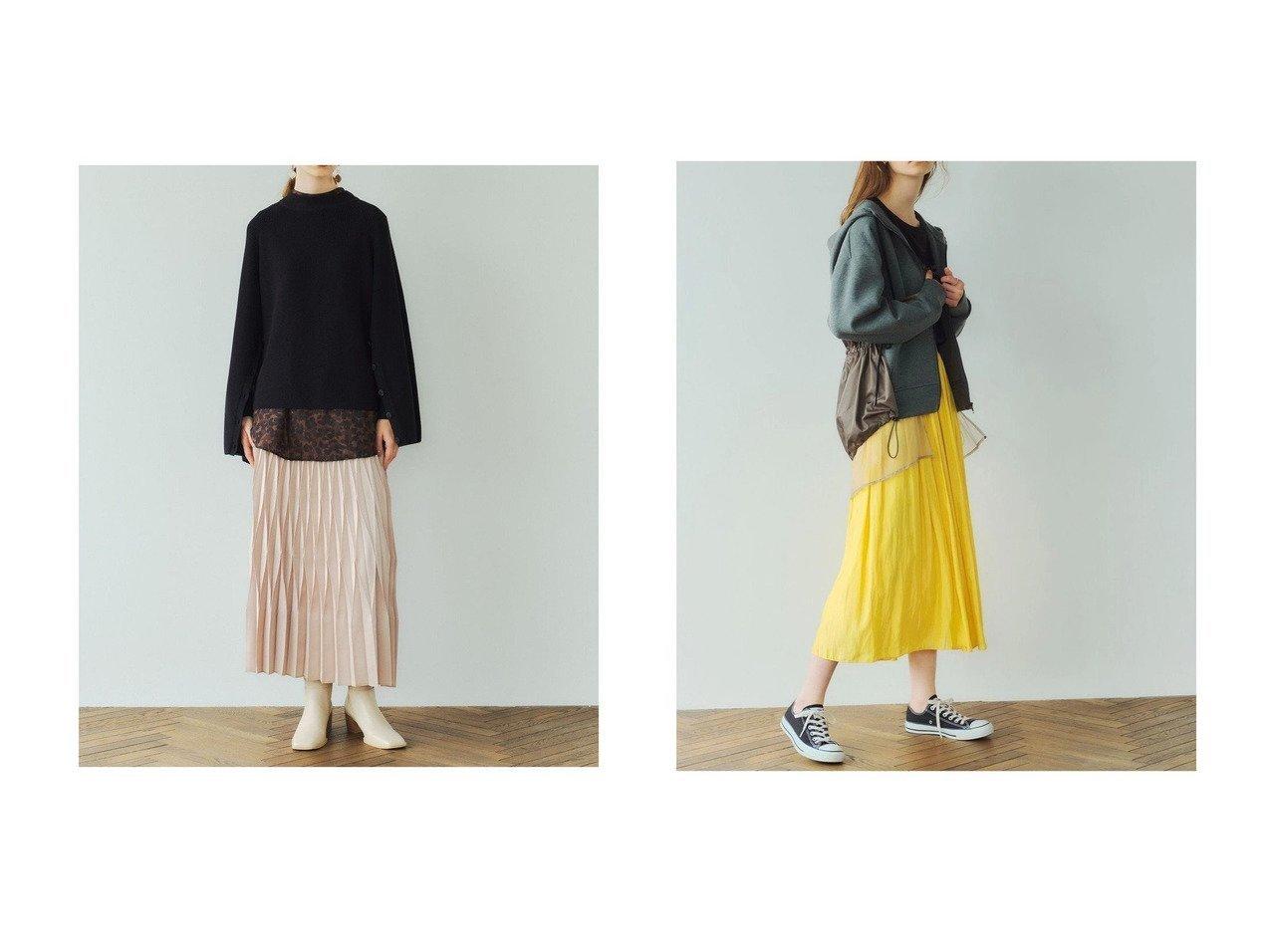 【YECCA VECCA/イェッカ ヴェッカ】のギャザーロングスカート&ダイヤモンドプリーツスカート 【スカート】おすすめ!人気、トレンド・レディースファッションの通販 おすすめで人気の流行・トレンド、ファッションの通販商品 インテリア・家具・メンズファッション・キッズファッション・レディースファッション・服の通販 founy(ファニー) https://founy.com/ ファッション Fashion レディースファッション WOMEN スカート Skirt プリーツスカート Pleated Skirts ロングスカート Long Skirt 送料無料 Free Shipping エレガント シンプル ダイヤモンド フォーマル プリーツ ギャザー ロング  ID:crp329100000068456